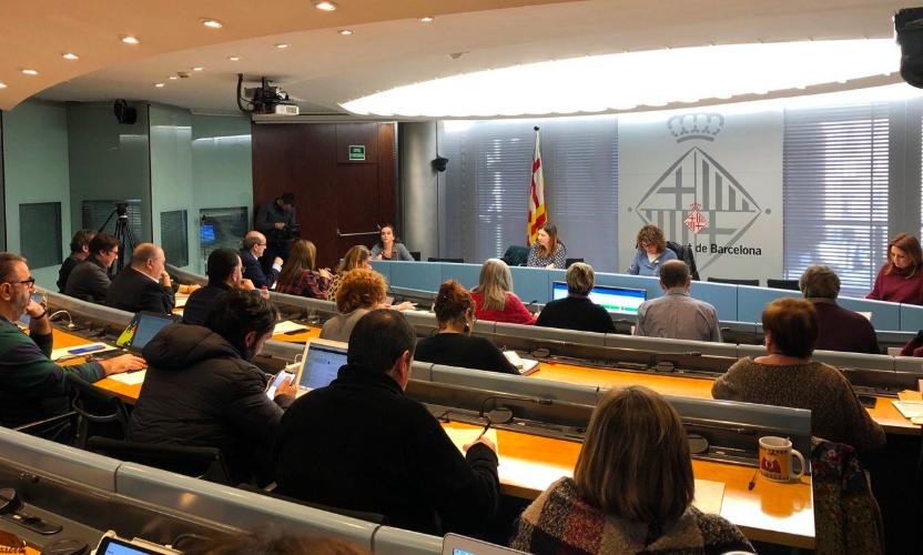 Comissió municipal de Drets Socials, Cultura i Esports, aquest dimarts / Ajuntament de Barcelona