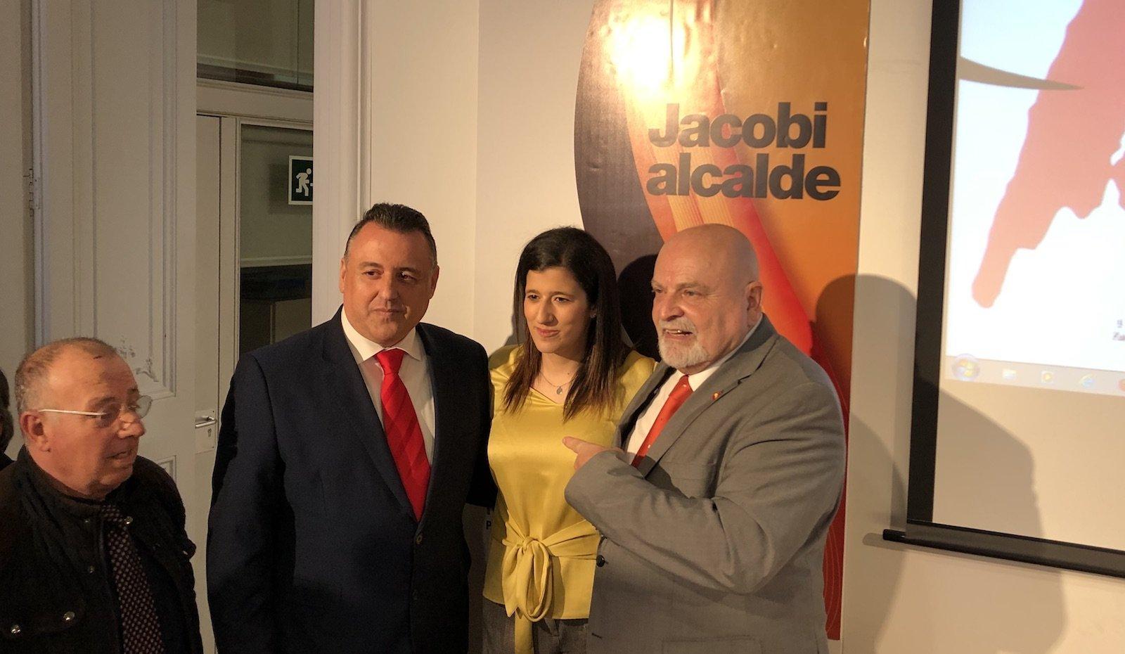 El nou candidat a alcalde de Barcelona Karl Jacobi. | Q. S.