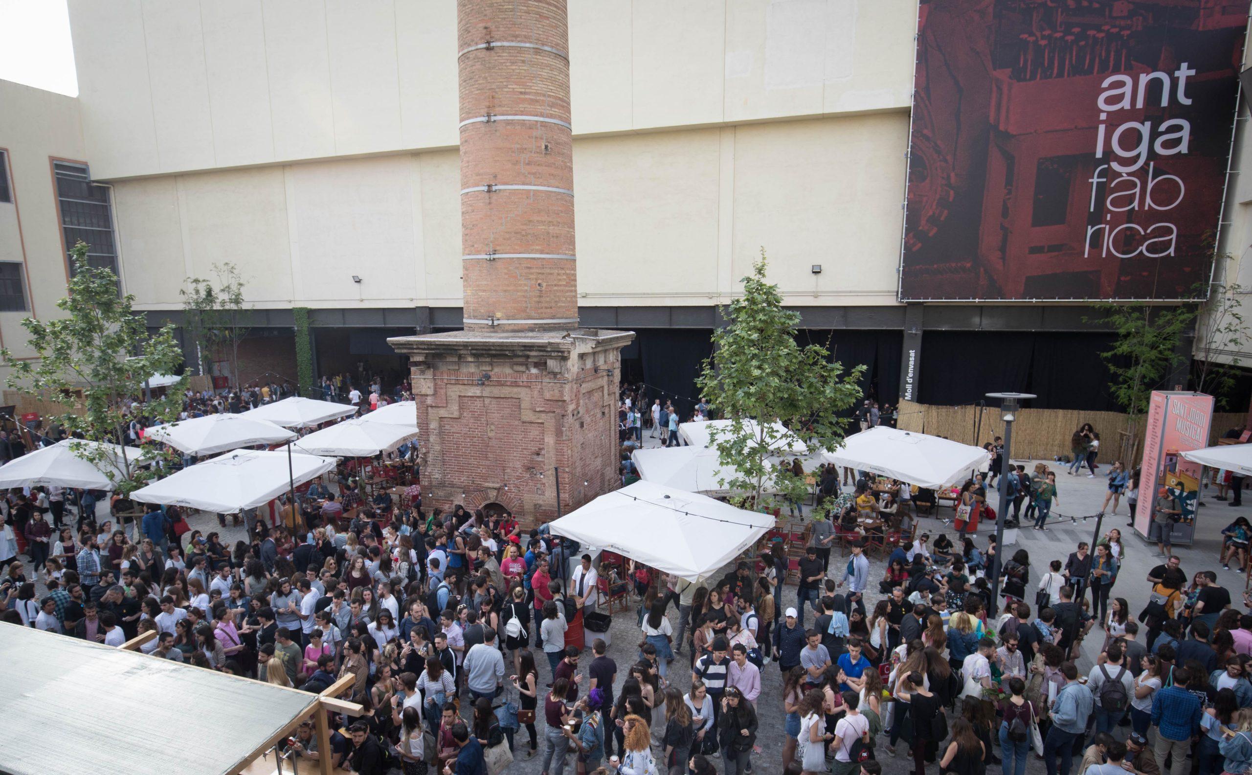 El Sant Jordi Musical de l'Antiga Fàbrica Estrella Damm del 2018 / Damm