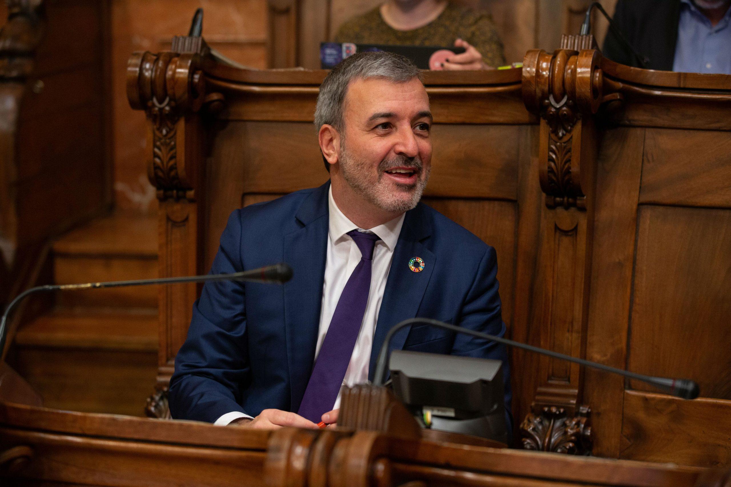 El candidat del PSC, Jaume Collboni / Europa Press