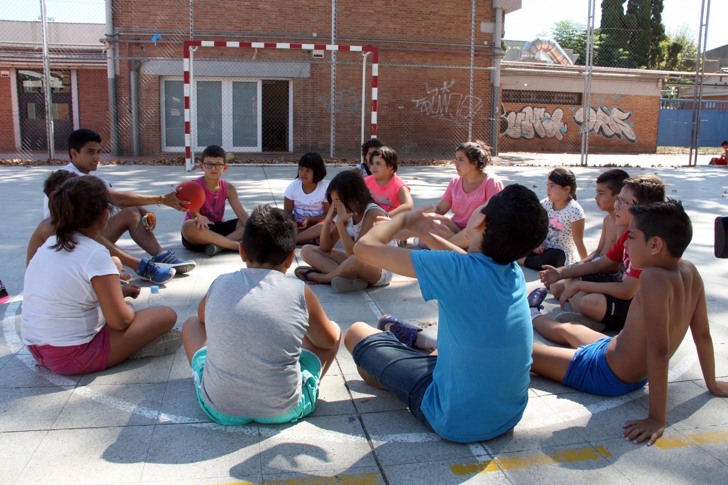 Imatge d'arxiu de nens a l'escola Baró de Viver / ACN