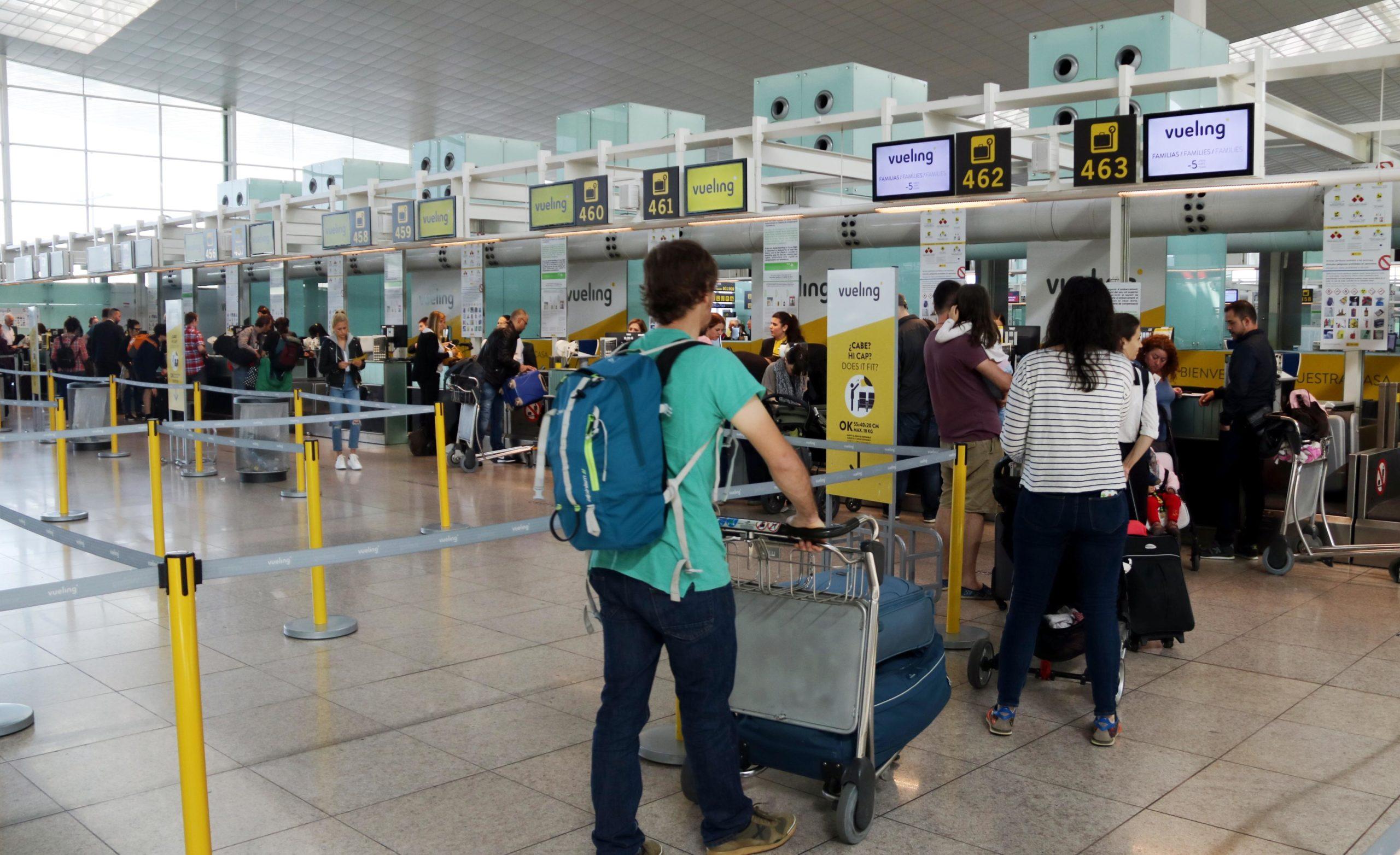 L'aeroport de Barcelona-El Prat té una capacitat màxima estimada de 55 milions de passatgers / ACN