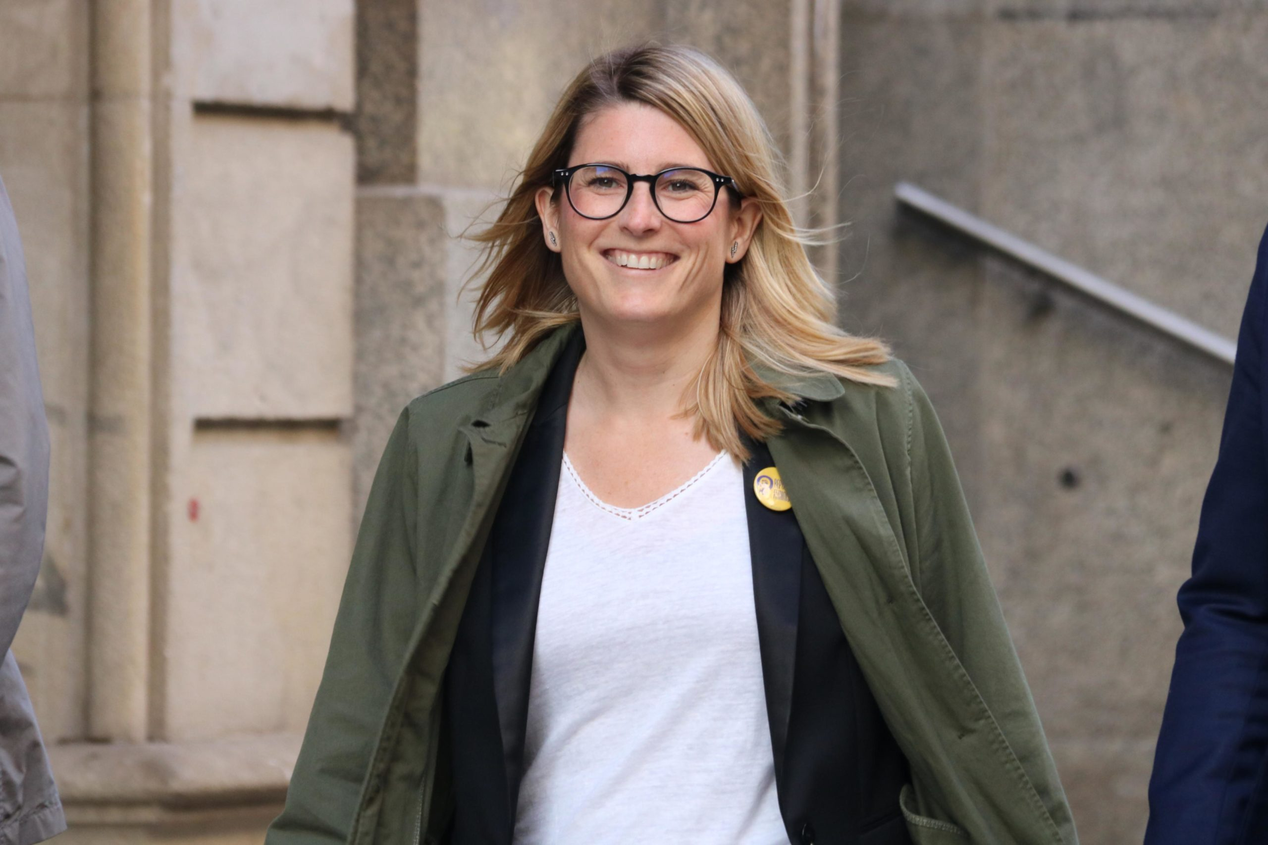 Elsa Artado ha tornat a criticar la investidura de Colau amb els vots de Valls / ACN