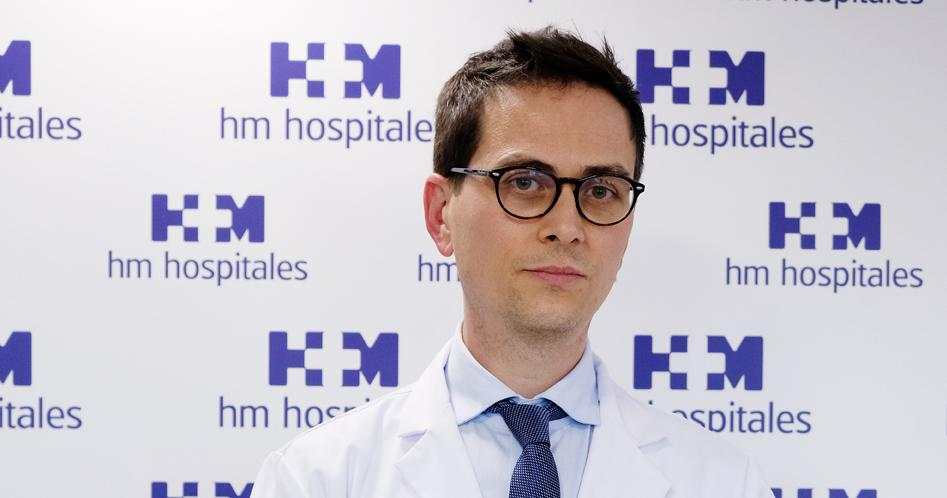 El doctor Jordi Remón, de l'hospital HM Delfos, de Barcelona, director del document que analitza assajos clínics sobre la immunoteràpia / HM Hospitales