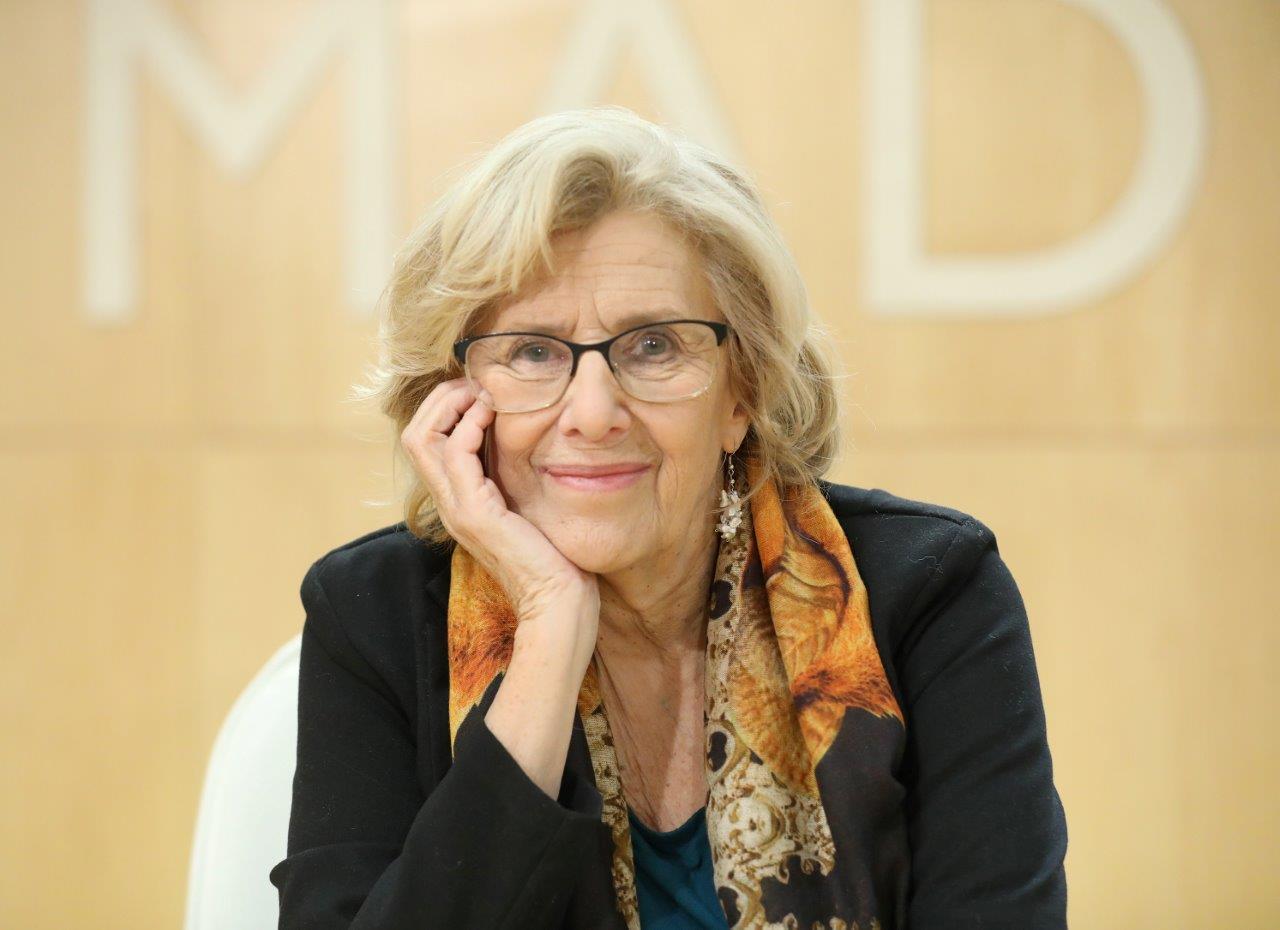 L'exalcaldessa de Madrid Manuela Carmena. | Ajuntament de Barcelona