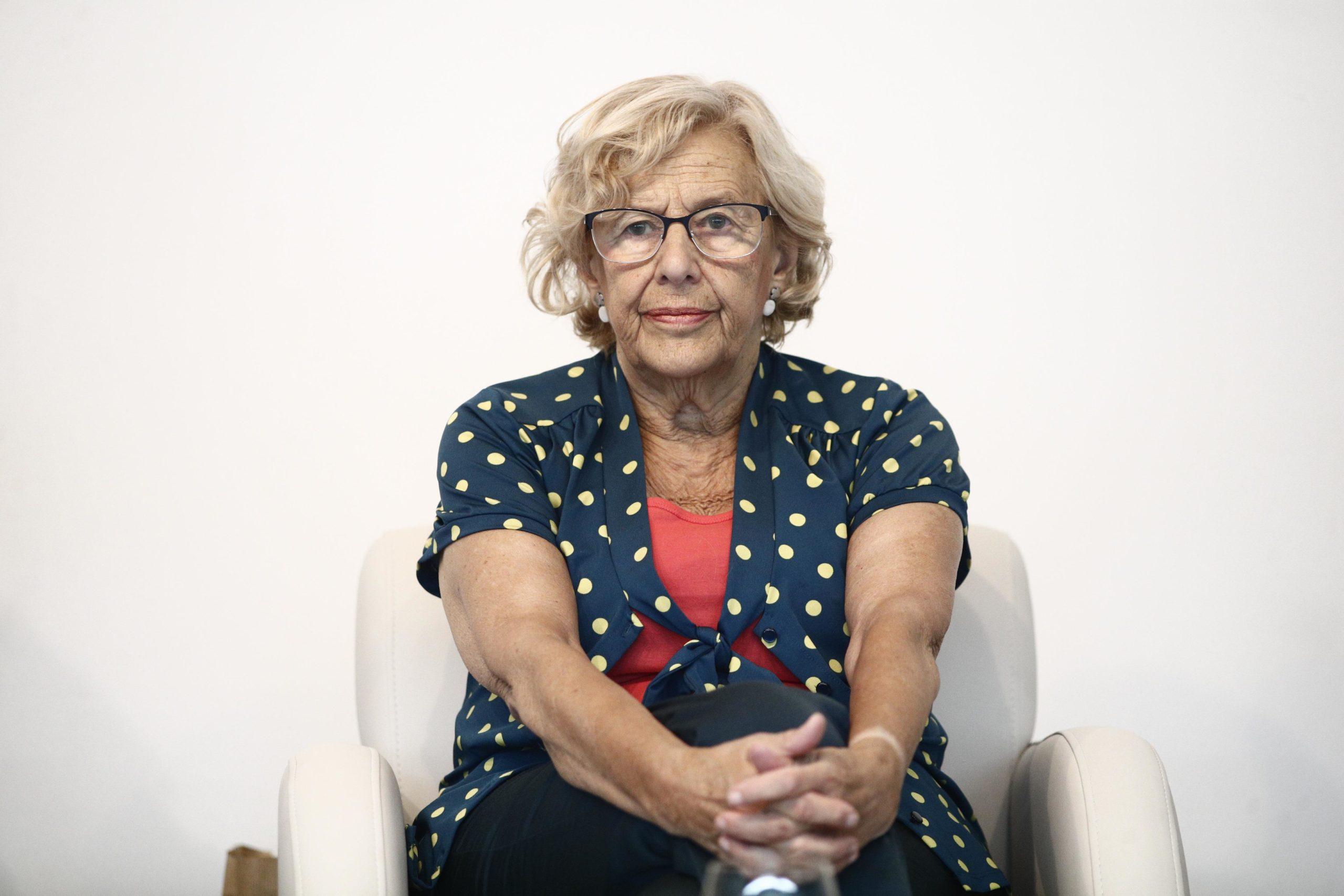 L'ex-alcaldessa de Madrid, Manuela Carmena, en una imatge d'arxiu. / Europa Press