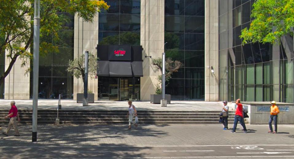 Discoteca Safari, al carrer Tarragona / Google Street View