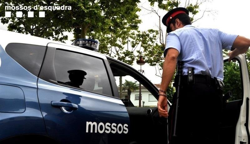 Imatge d'arxiu d'un cotxe patrulla de la policia catalana / Mossos d'Esquadra
