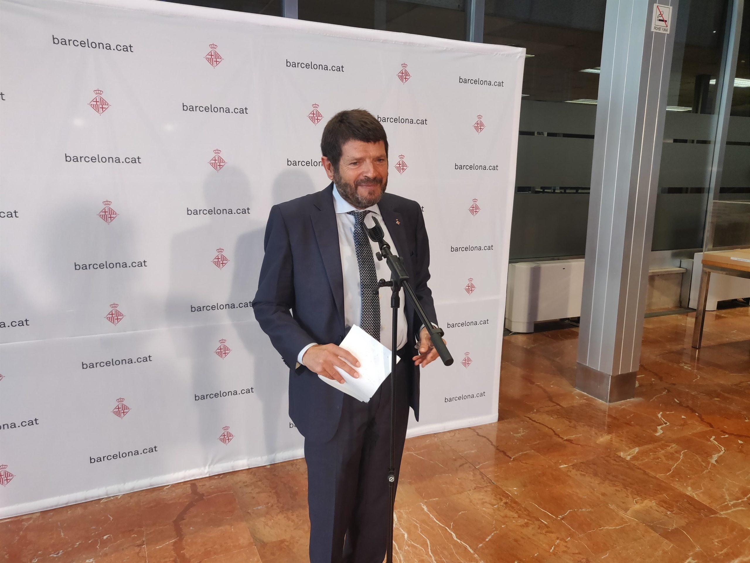 El tinent d'alcalde de Seguretat i Prevenció, Albert Batlle   Europa Press