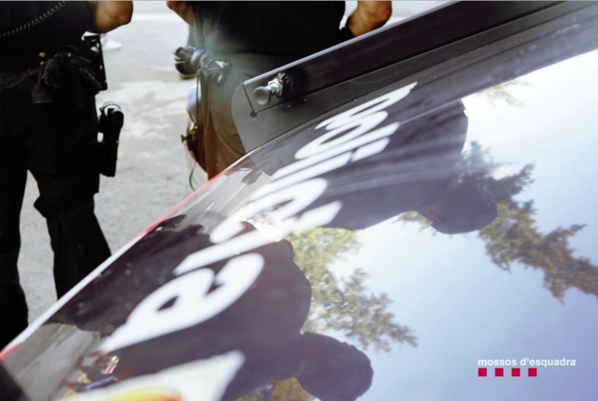 Imatge d'arxiu dels Mossos d'Esquadra patrullant a Barcelona / CME
