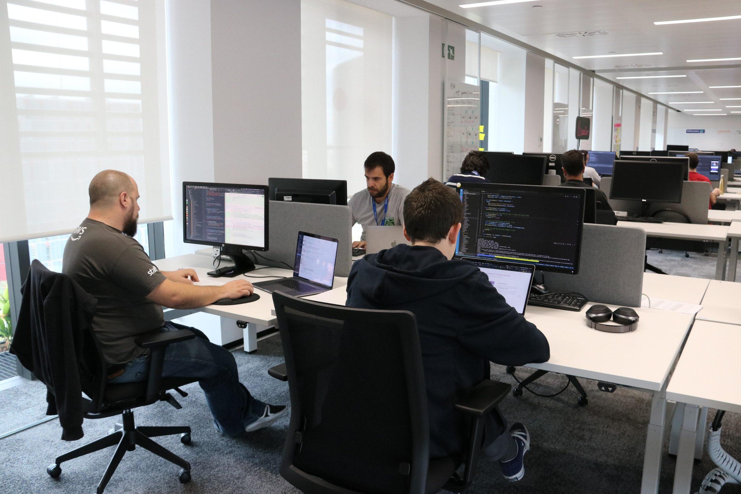 Imatge d'arxiu d'unes oficines a Barcelona / ACN
