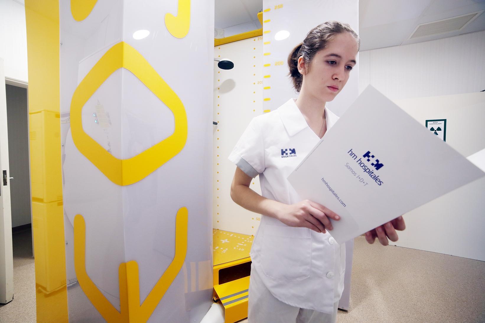 L'escàner EOS de l'Hospital Delfos / HM Hospitales