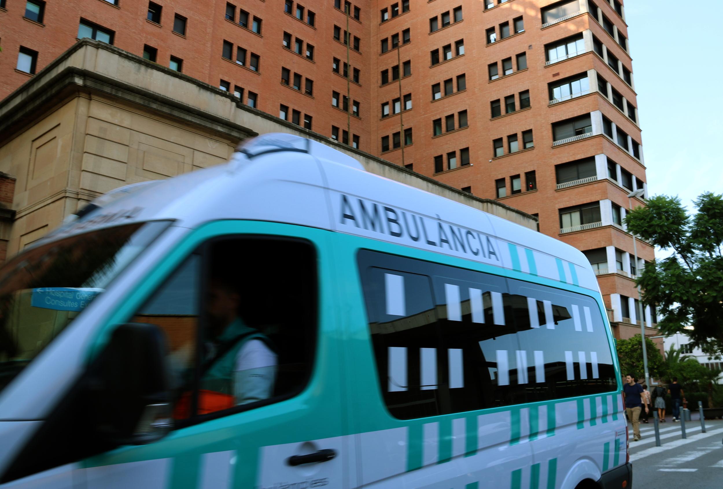 Imatge d'arxiu d'una ambulància / ACN