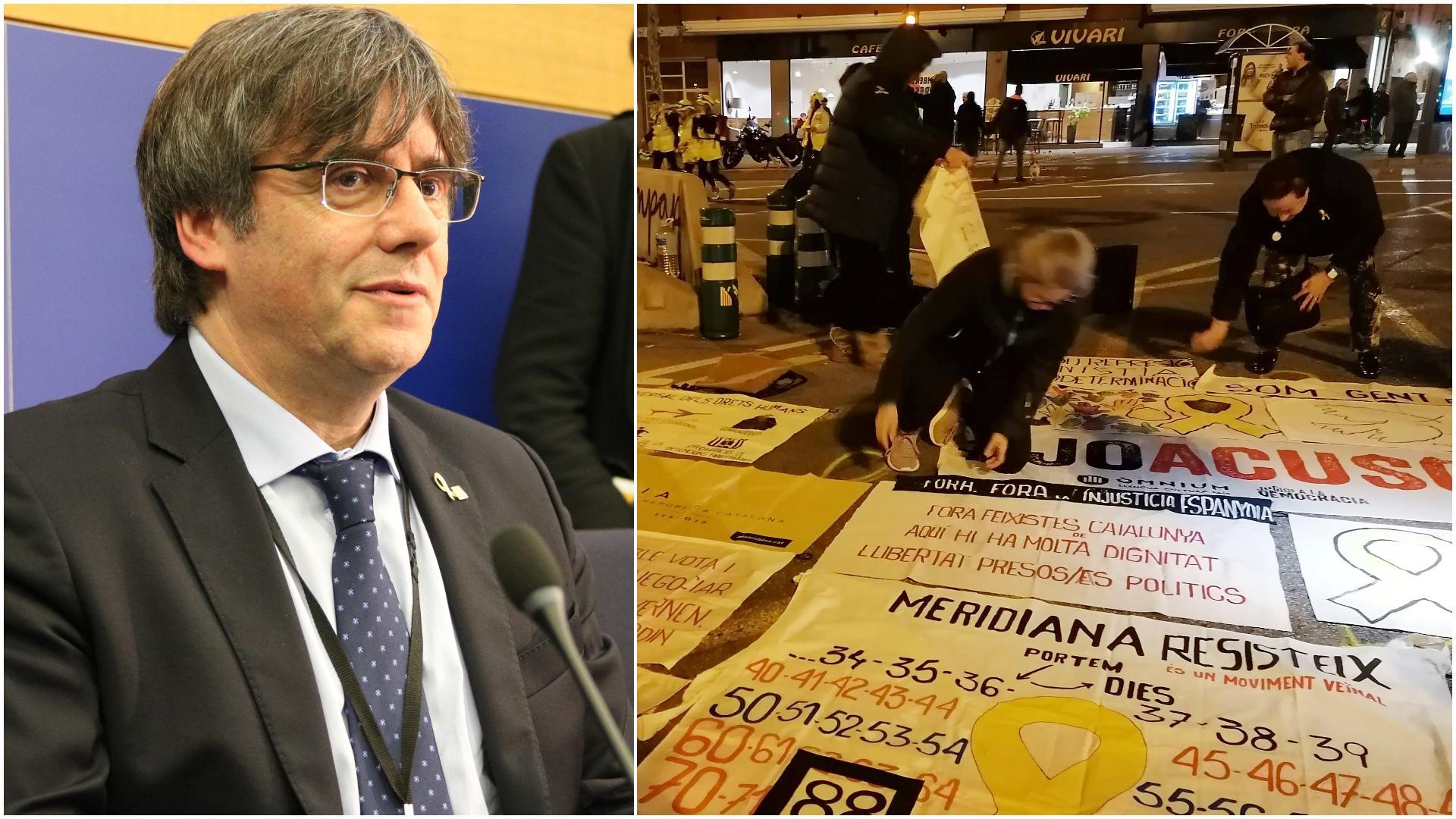 Puigdemont ha enviat un missatge de suport a Meridiana Resisteix / ACN - MMP