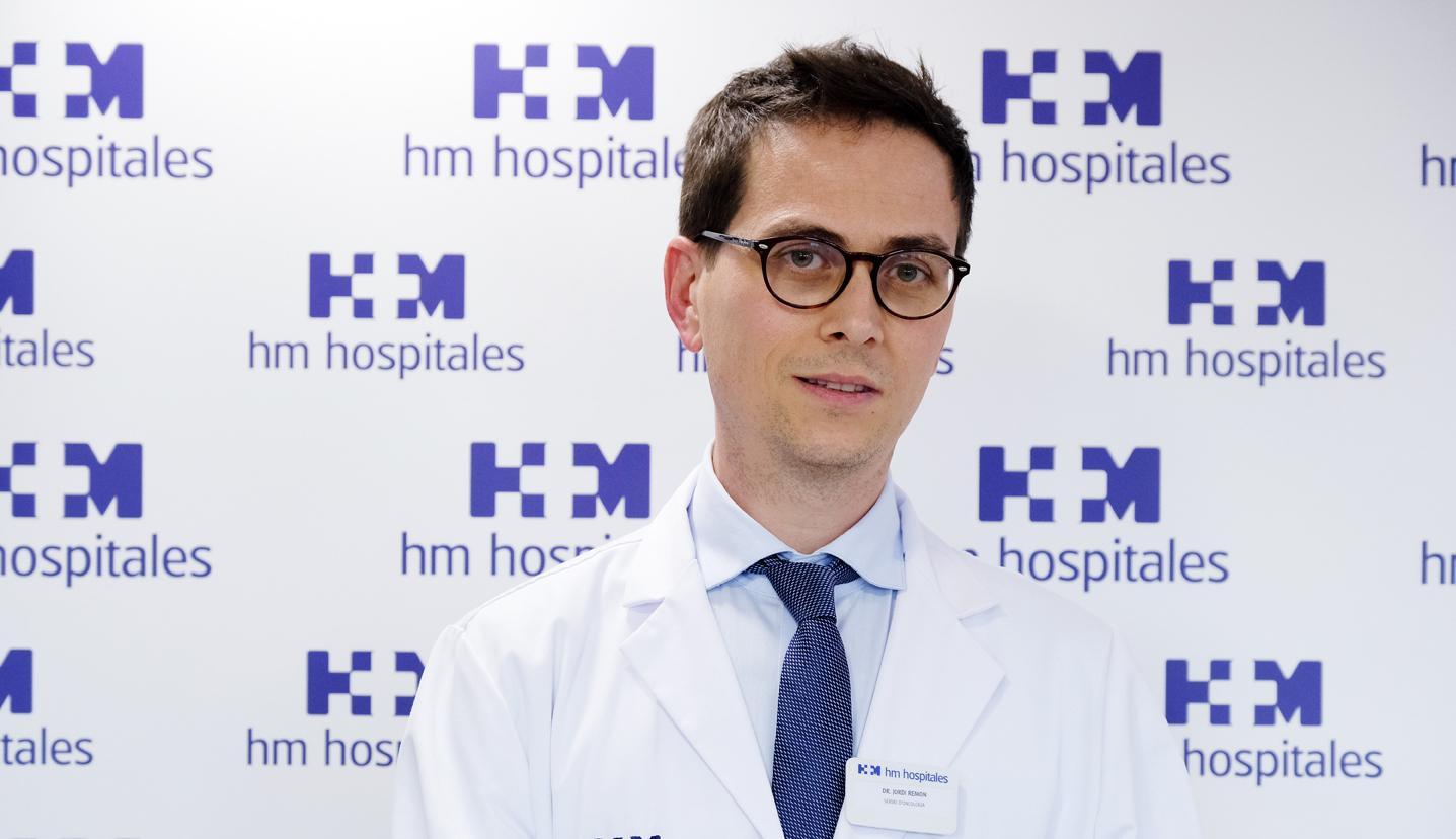 El doctor Jordi Remon, del Centre Integral Oncològic Clara Campal del grup HM a Barcelona / HM Hospitales