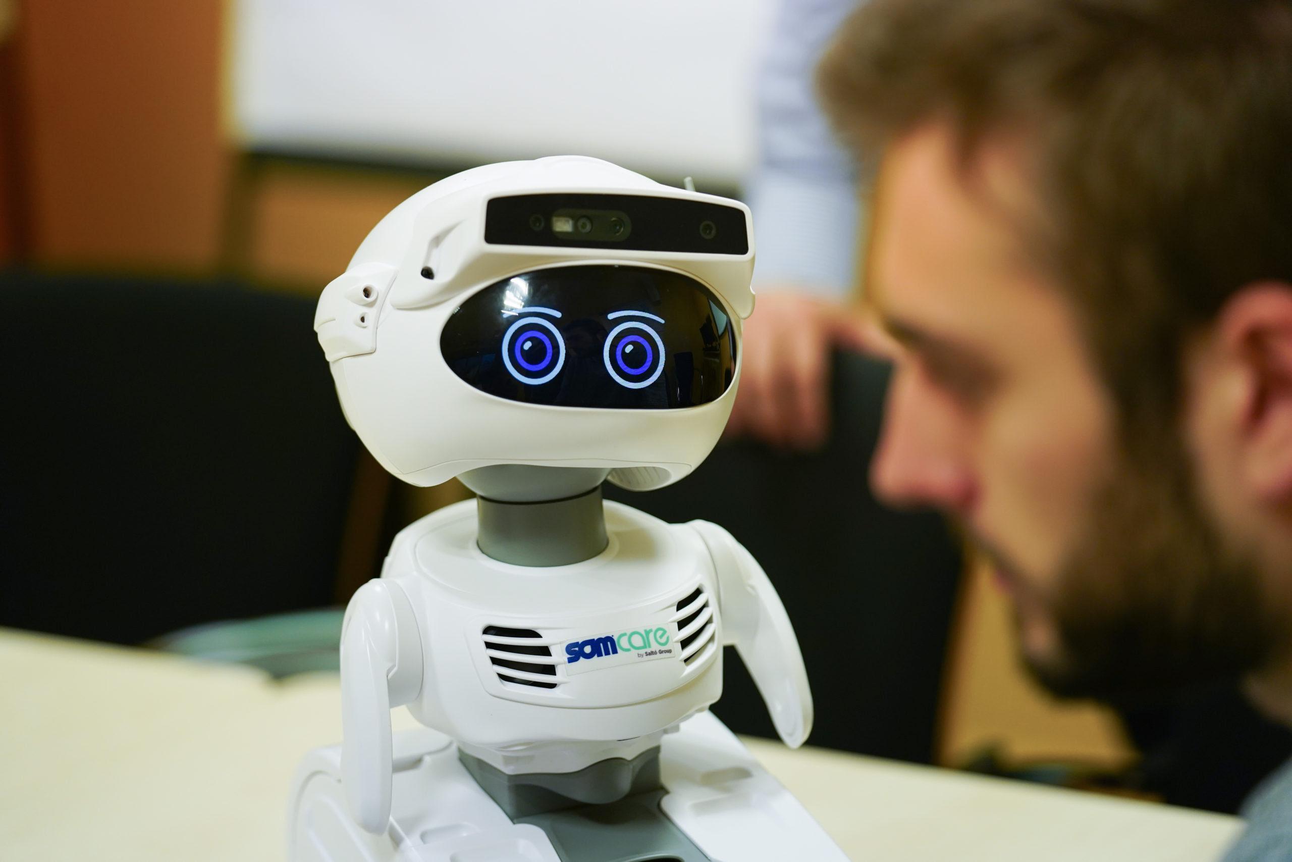 Un dels robots que formen part de la prova pilot / Ajuntament de Barcelona