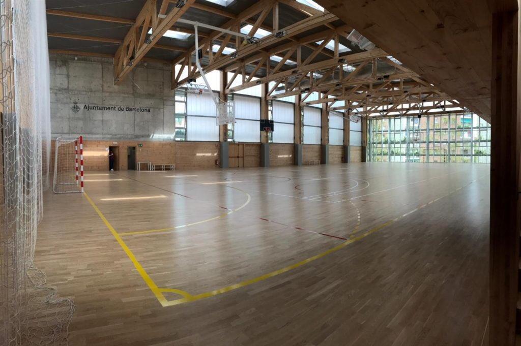 Un centre esportiu municipal / @BCN_esports