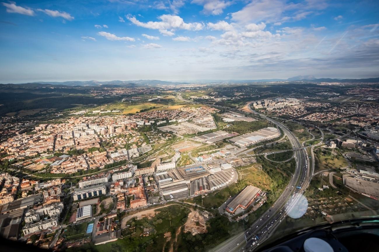 Vista dels principals accessos a Barcelona / Europa Press