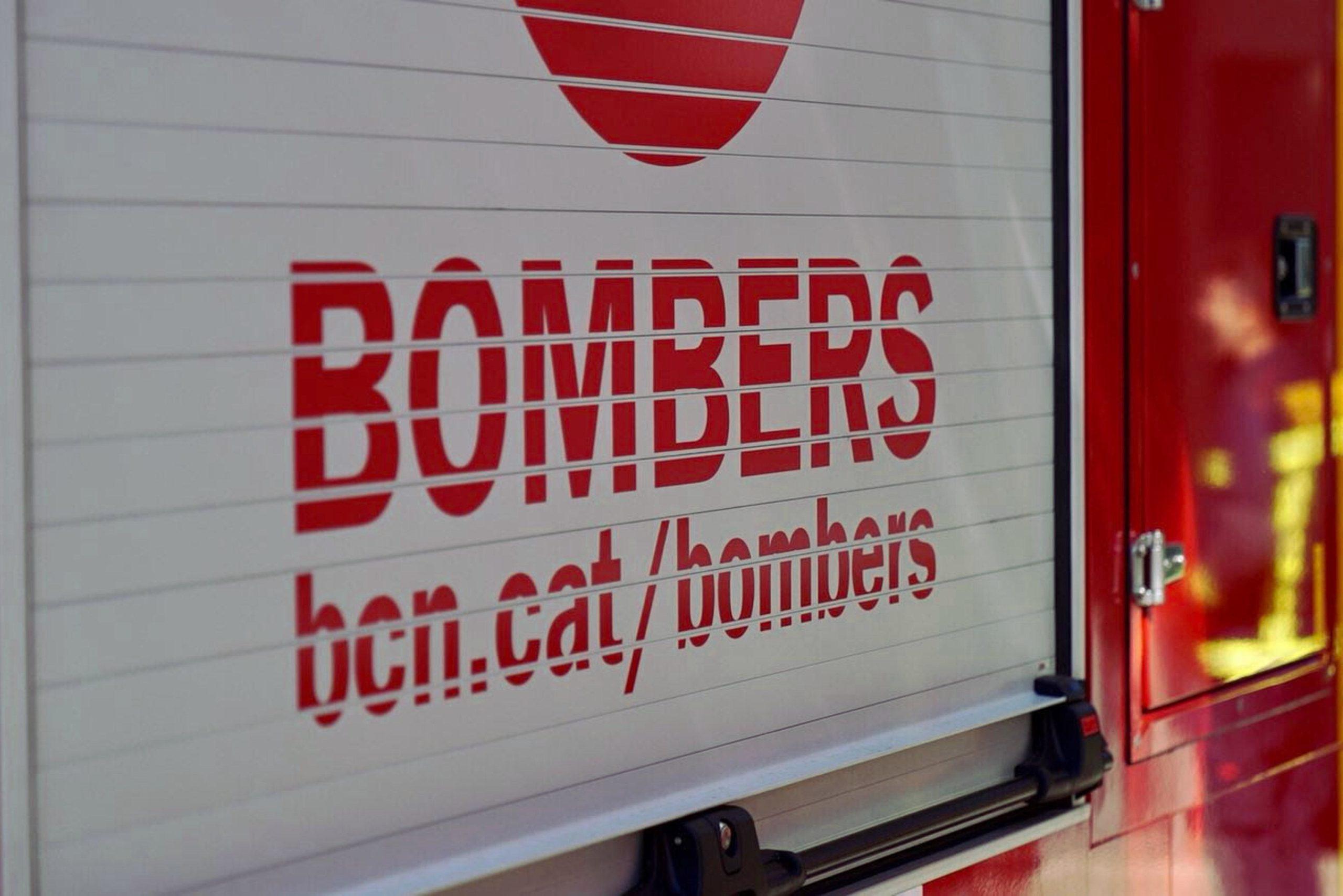 Imatge d'arxiu d'un camió dels Bombers de Barcelona / ACN