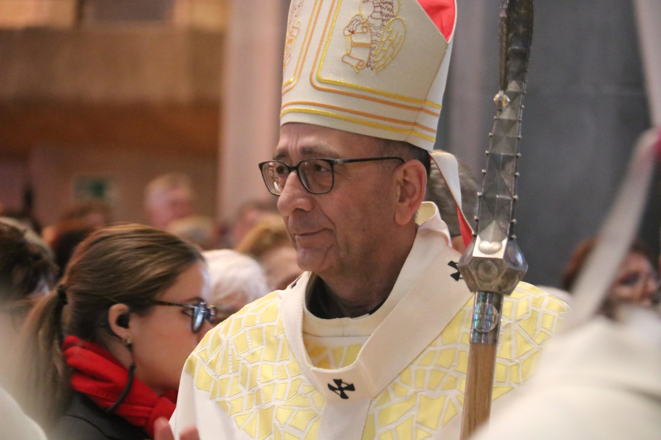 El cardenal Joan Josep Omella durant l'eucaristia per celebrar els 75 anys de Càritas / ACN
