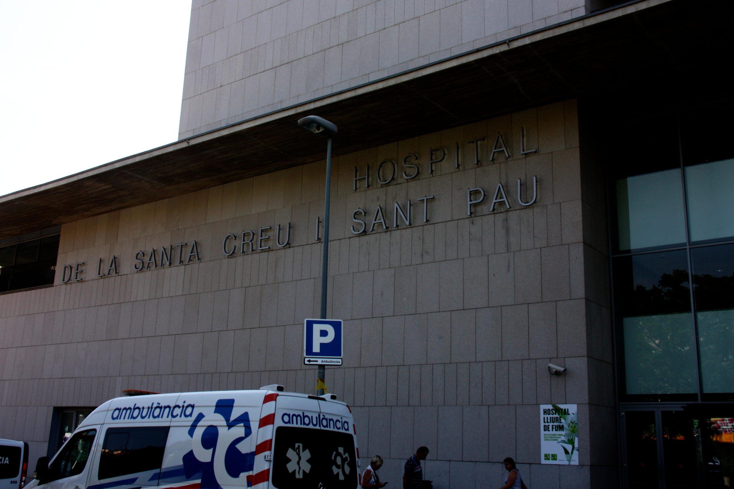 L'Hospital de Sant Pau, en una imatge d'arxiu /  ACN