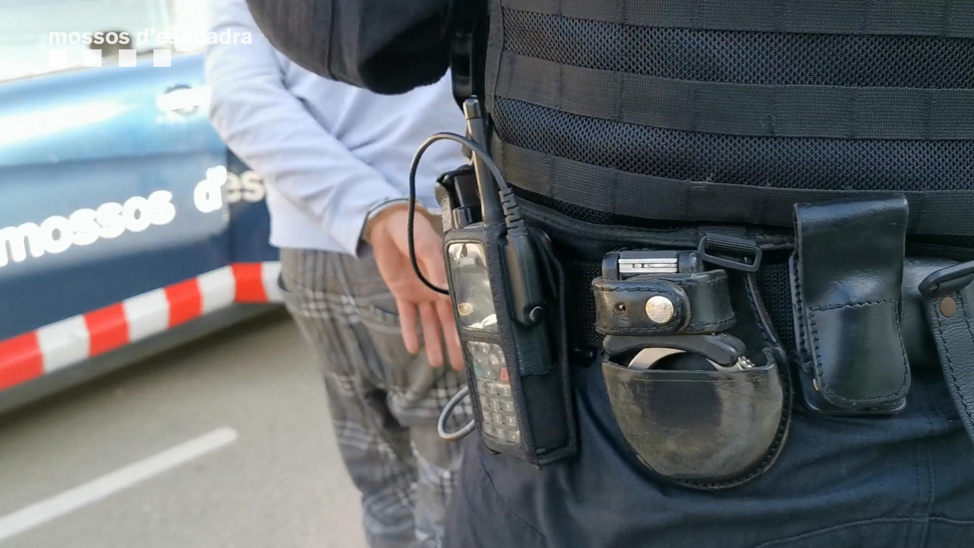 Foto d'arxiu d'un detingut / Mossos