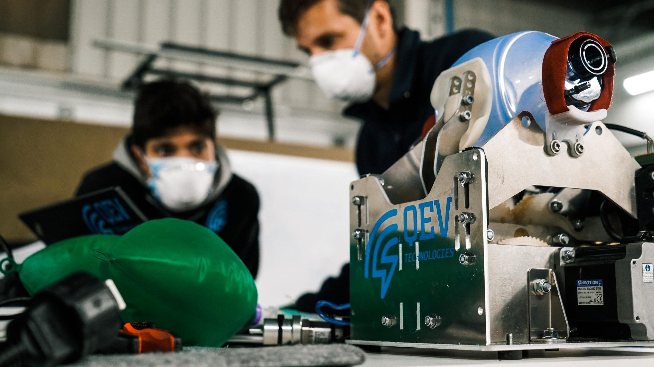 El respirador desenvolupat per Nissan, l'Hospital de Sant Pau, l'enginyeria QEV Technologies i el centre tecnològic Eurecat pensat per abastir els països emergents| Nissan