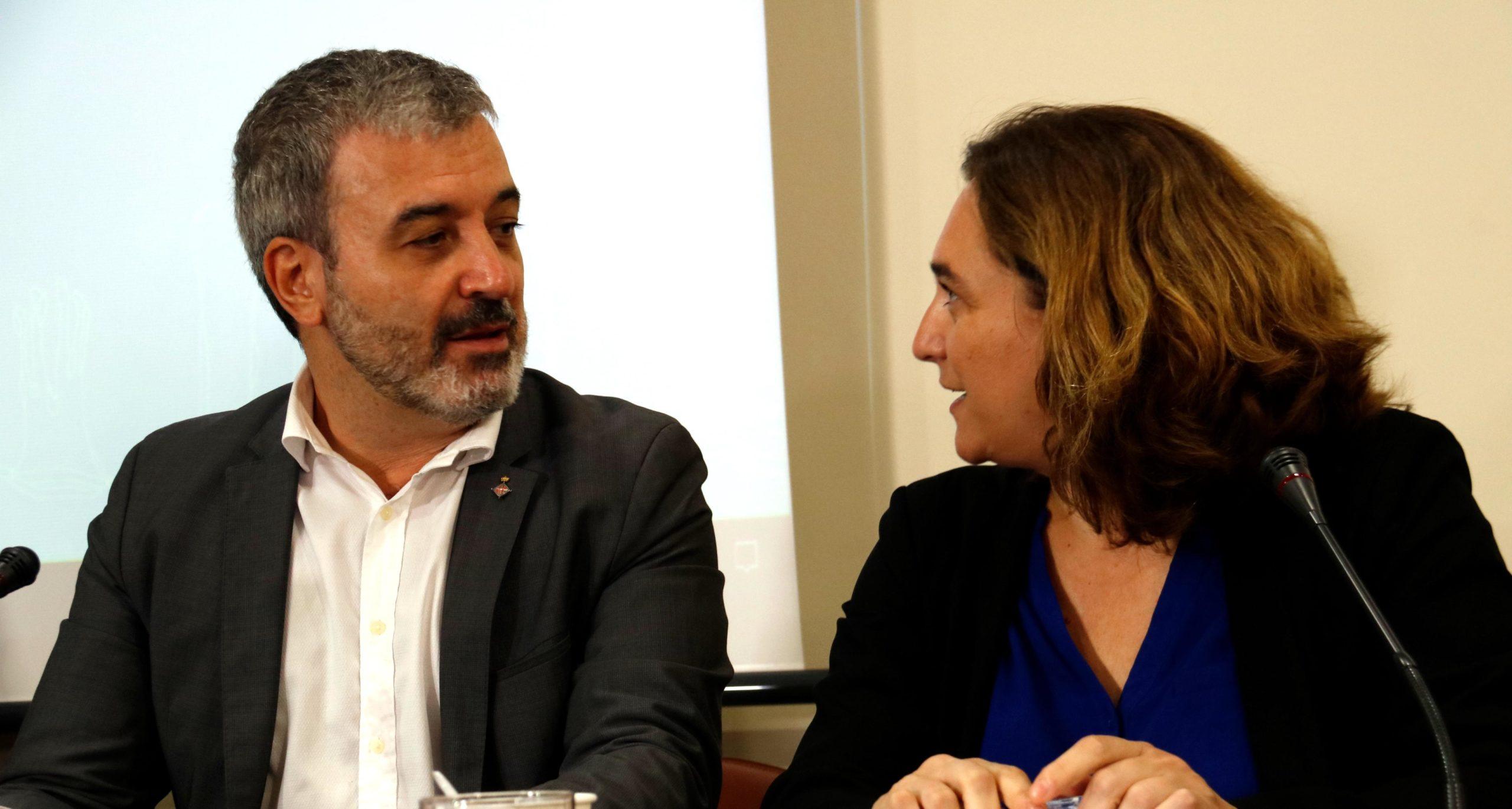 Ada Colau i Jaume Collboni, en una imatge d'arxiu / ACN (Blanca Blay)