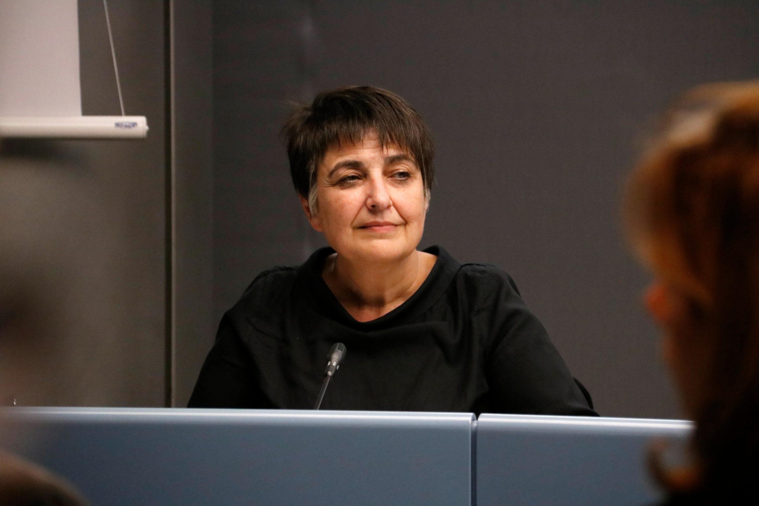 La regidora de Mobilitat i presidenta de TMB, Rosa Alarcón, en una imatge d'arxiu / ACN