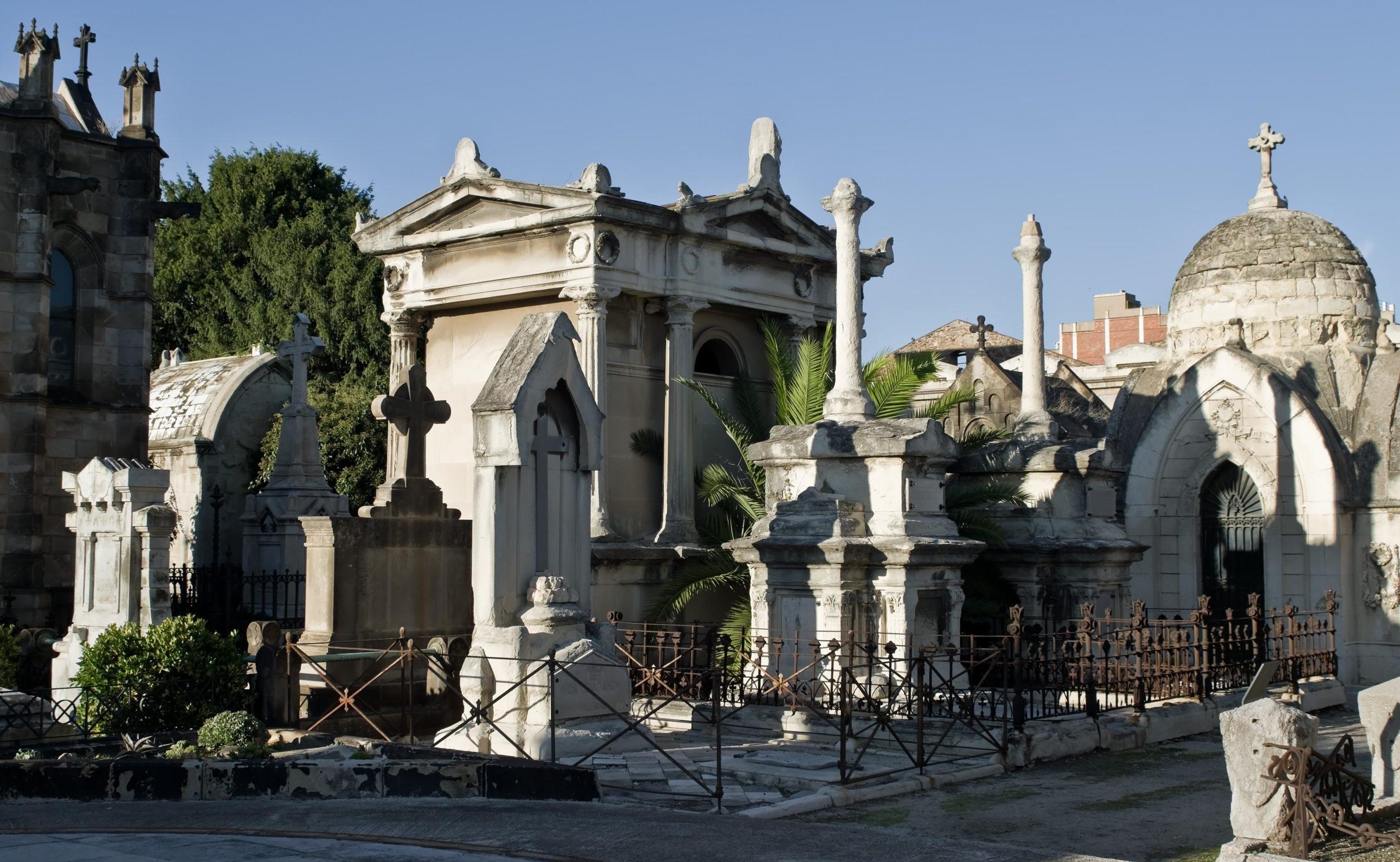 Imatge d'arxiu del cementiri del Poblenou / Nikodem Nijaki