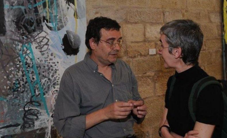 L'artista Xavier Grau en una de les seves exposicions / Galería Miguel Marcos