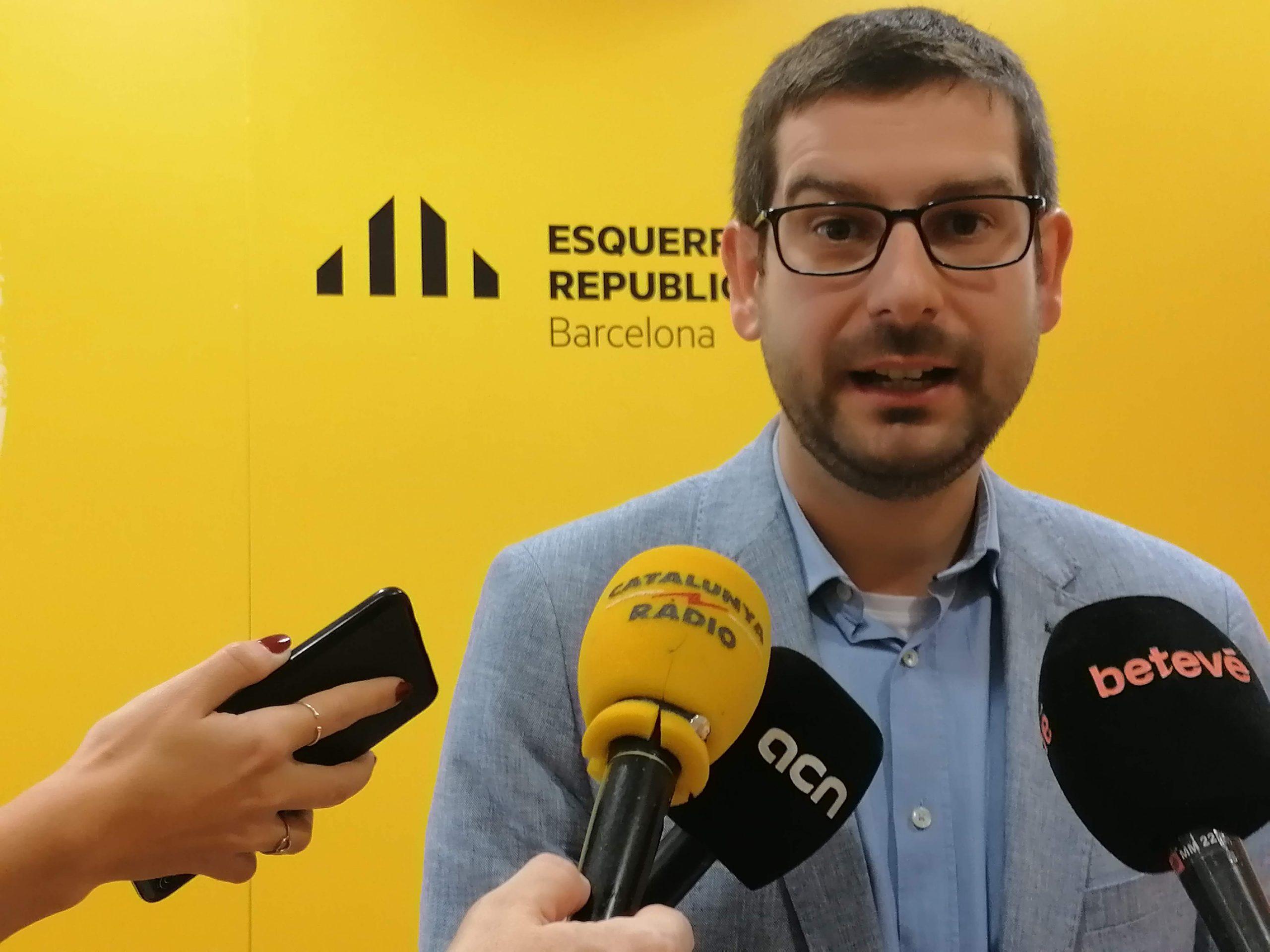 El regidor d'ERC Jordi Castellana / MMP