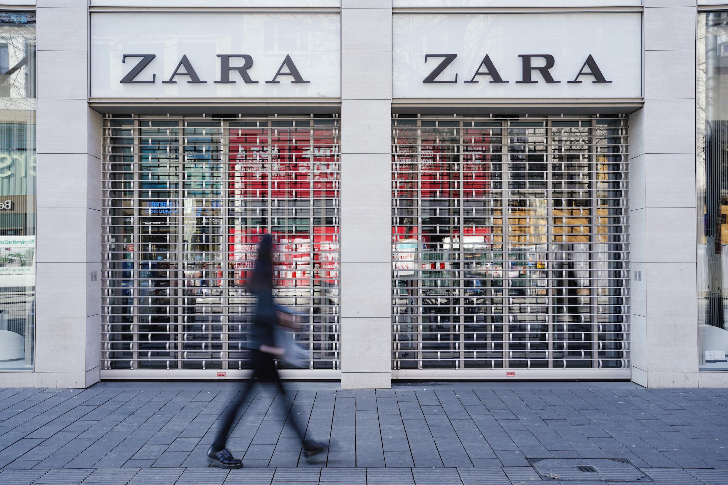 Una botiga de Zara, la cadena més popular d'Inditex, propietat d'Amancio Ortega / Europa Press