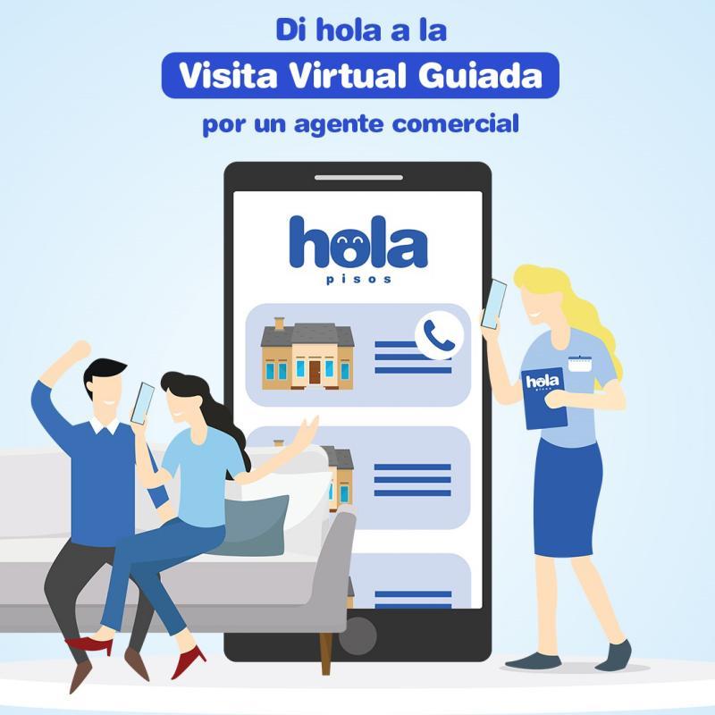 Holapisos ofereix visites virtuals guiades / Servimedia