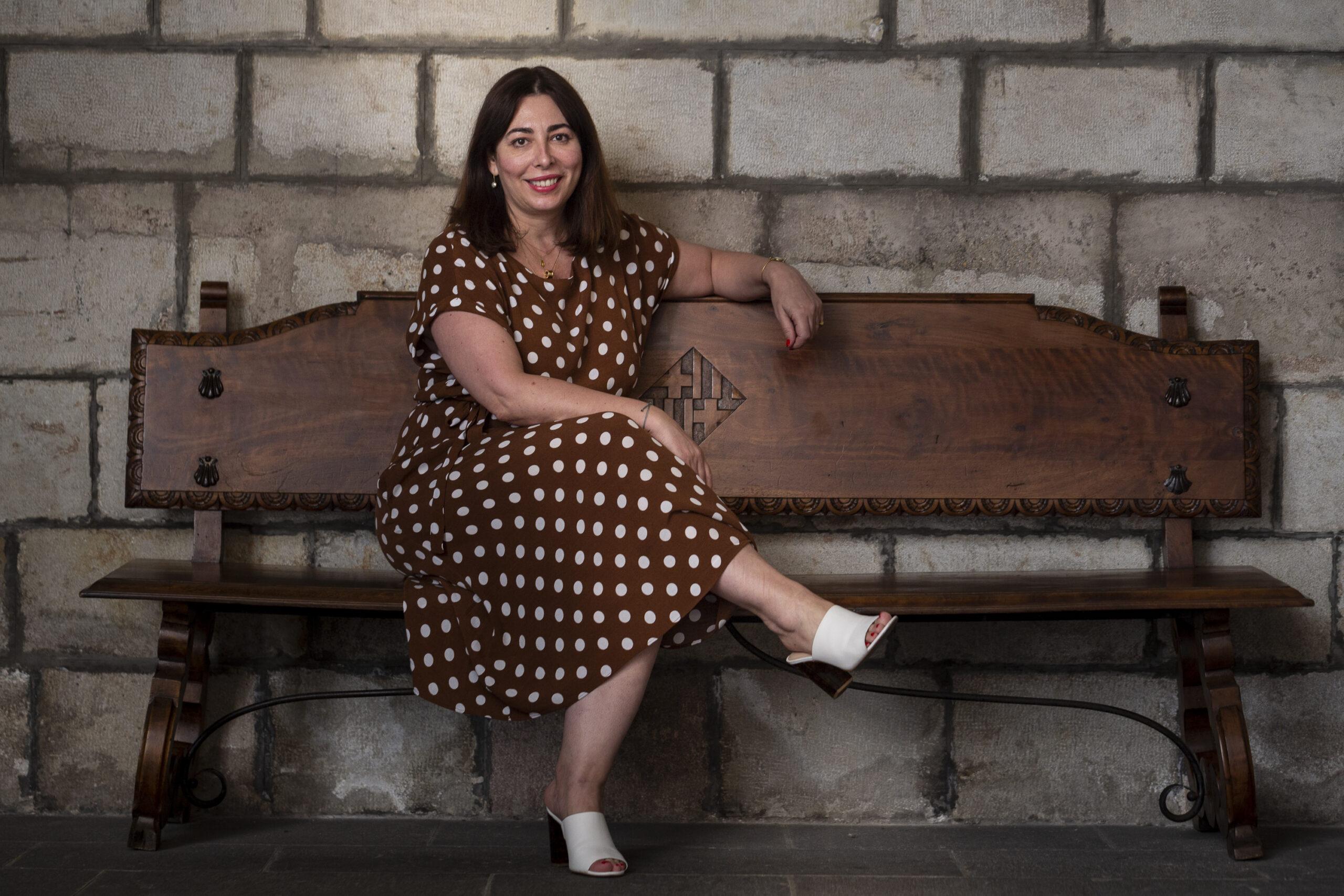 La presidenta del grup municipal de Ciutadans a Barcelona, Luz Guilarte / Mireia Comas
