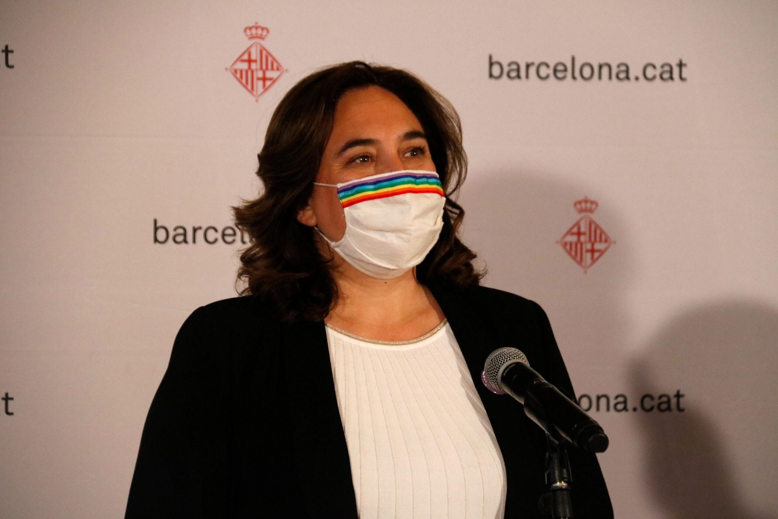 L'alcaldessa Ada Colau, en una roda de premsa en imatge d'arxiu / ACN - Blanca Blay