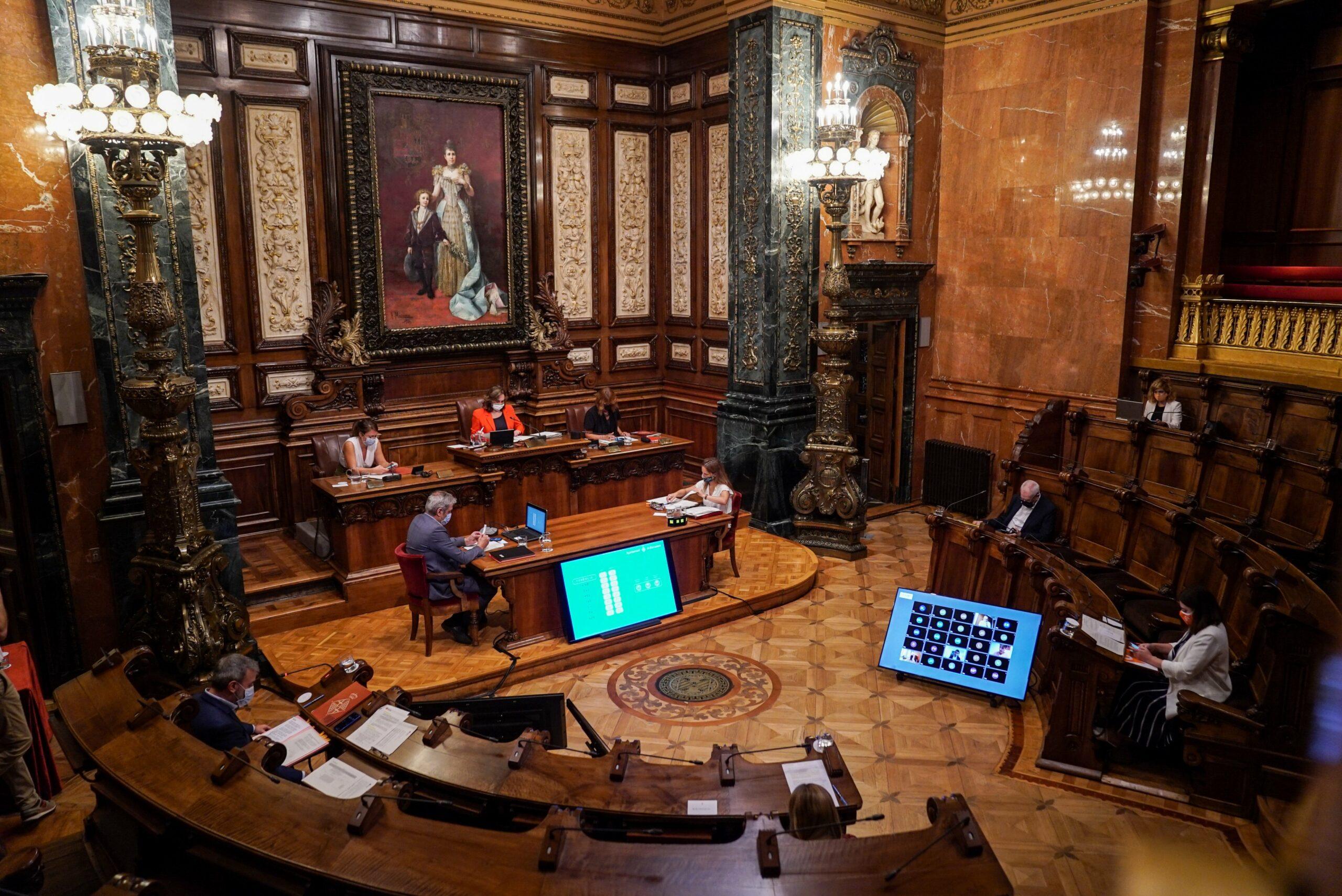 Sala de plens de Barcelona / Ajuntament de Barcelona