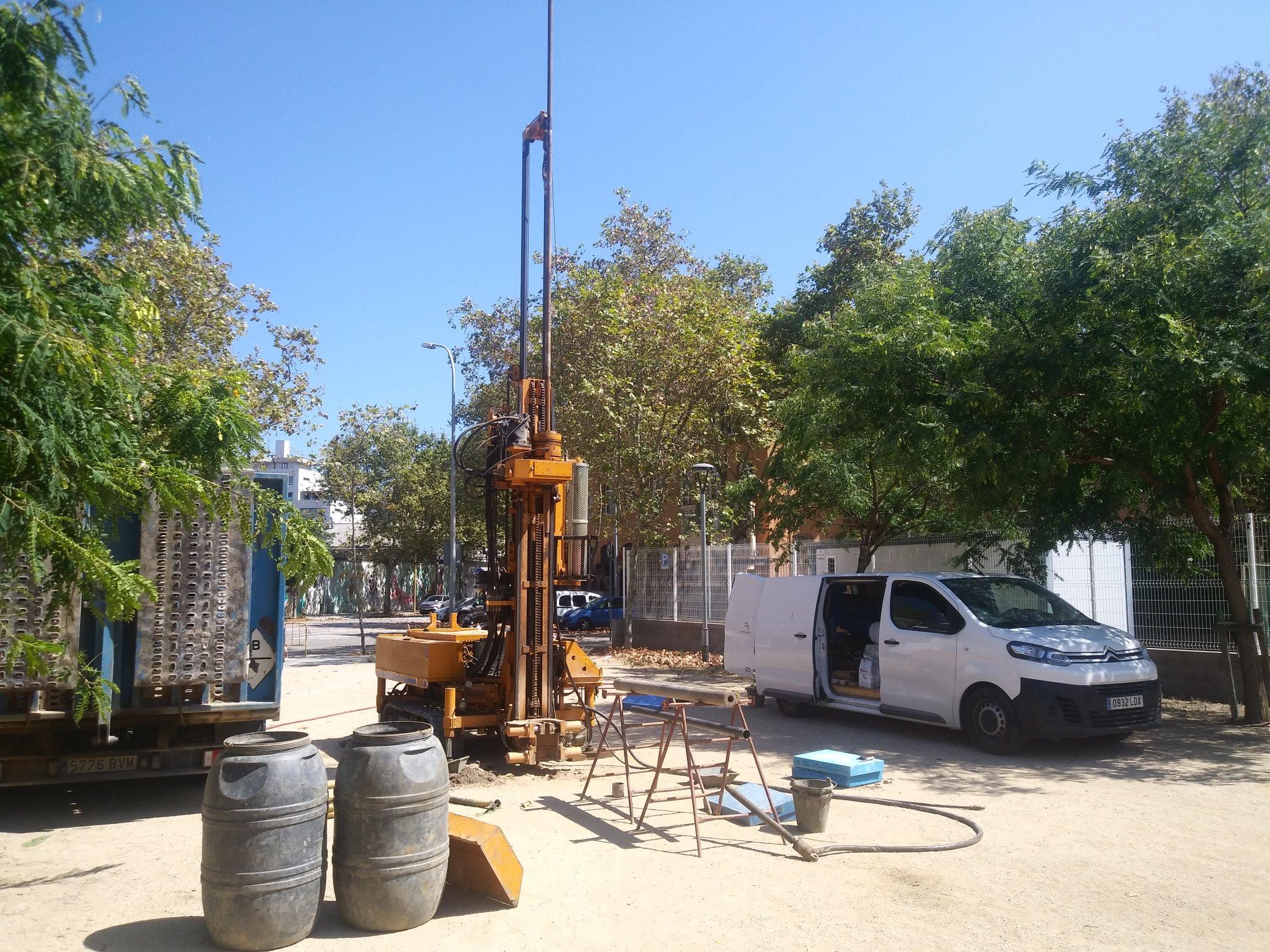 Perforació a la Vila Olímpica per trobar restes de l'antic fondejador de Barcelona / Paleo Bàrcino