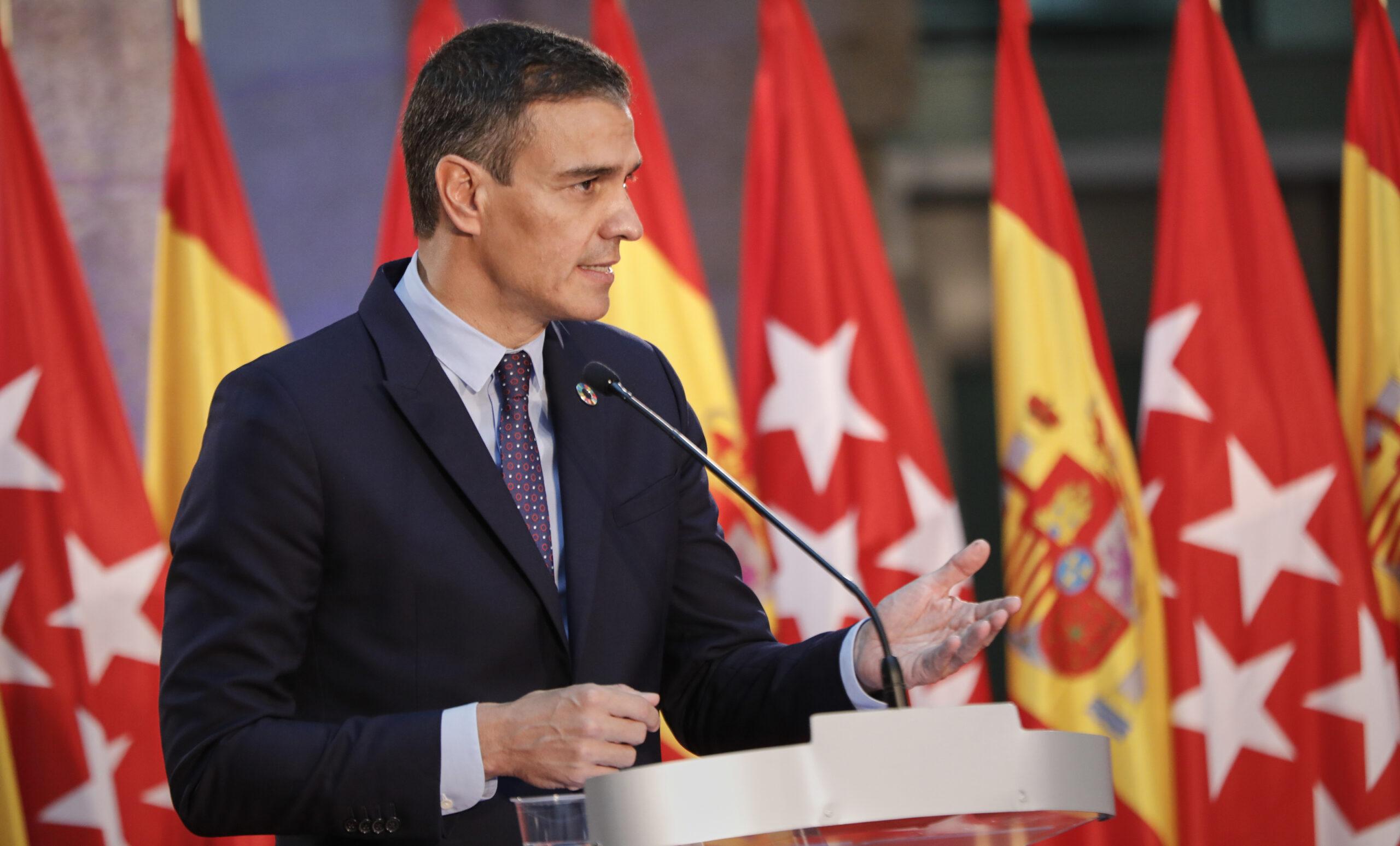 Pedro Sánchez, president del govern espanyol, en un acte recent / Jesús Hellín (Europa Press)