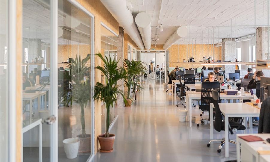 Aticco Urquinaona va ser el primer coworking de la firma a Barcelona / Aticco