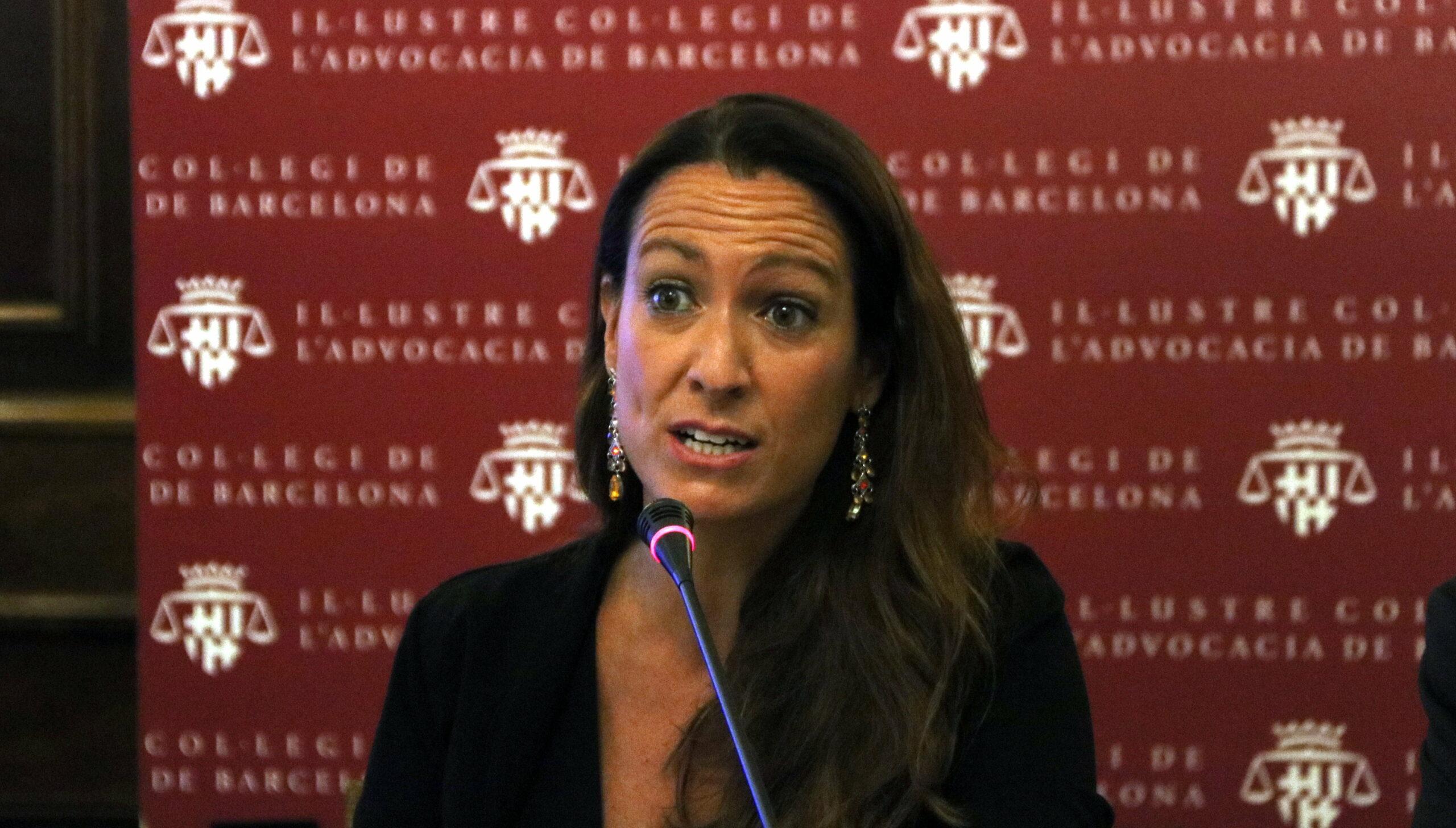 Imatge d'arxiu de la degana de l'ICAB, Maria Eugènia Gay / Pol Solà (ACN)