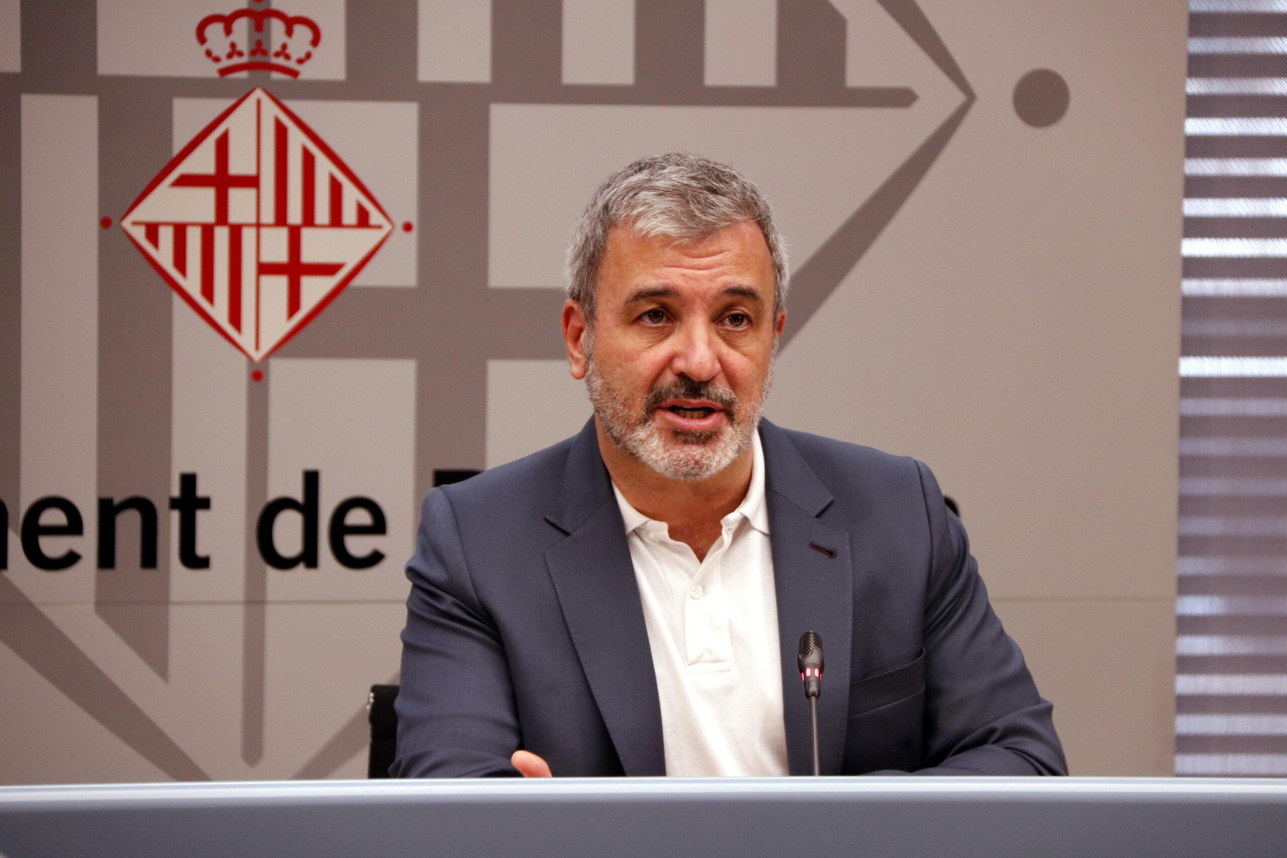 El primer tinent d'alcalde de l'Ajuntament de Barcelona, Jaume Collboni, en imatge d'arxiu / ACN