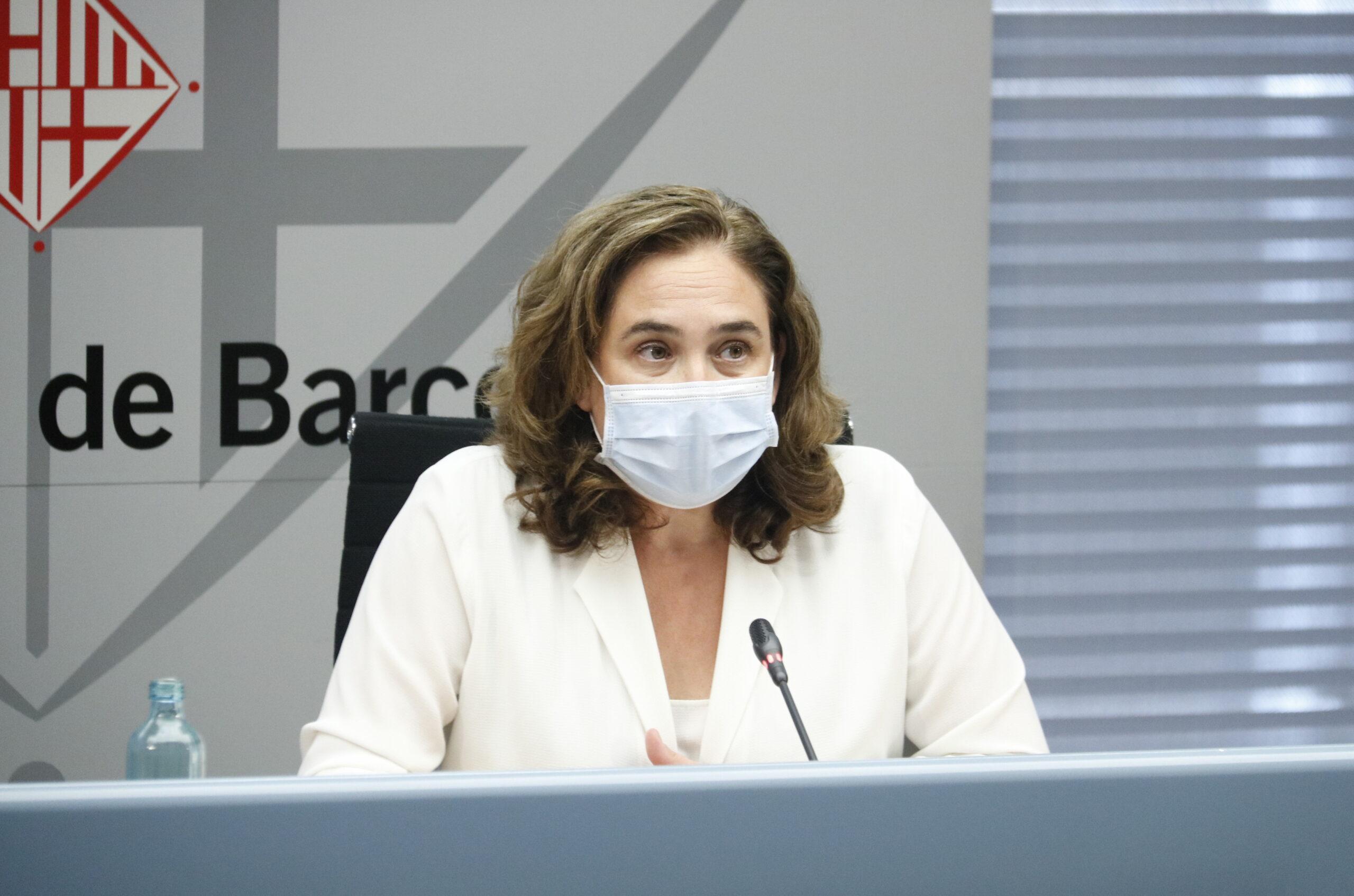 L'alcaldessa de Barcelona, Ada Colau, en imatge d'arxiu/ ACN