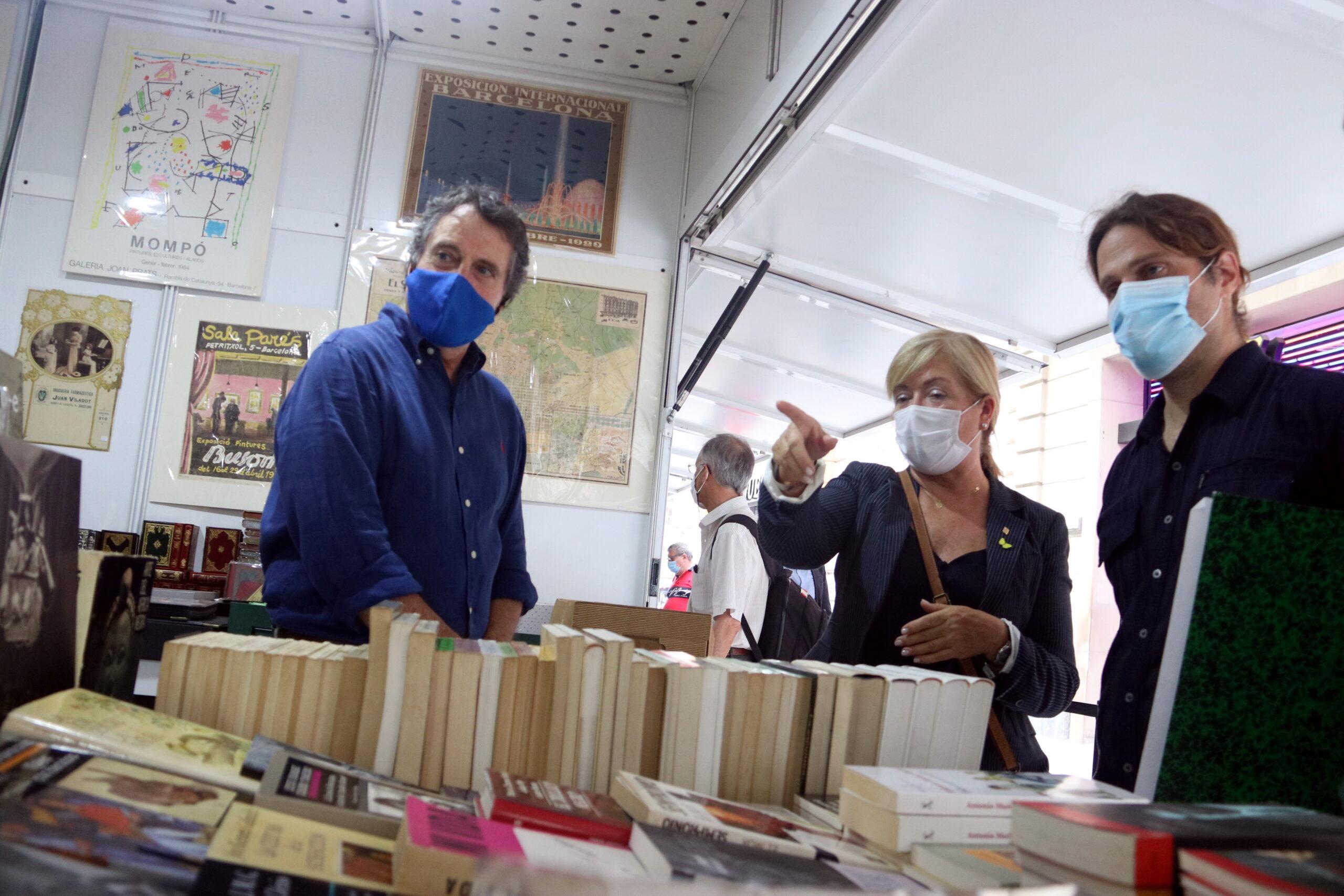 La Fira del Llibre d'Ocasió, Antic i Modern, que va començar divendres, és un baló d'oxigen per als llibreters / ACN