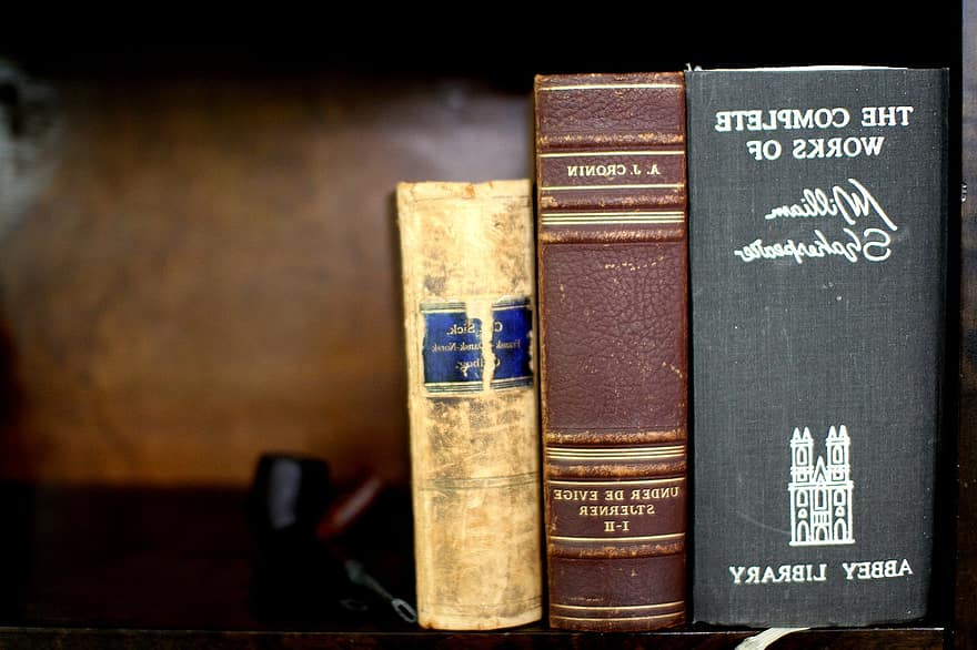 Imatge d'arxiu de llibres de Shakespeare / Pikist