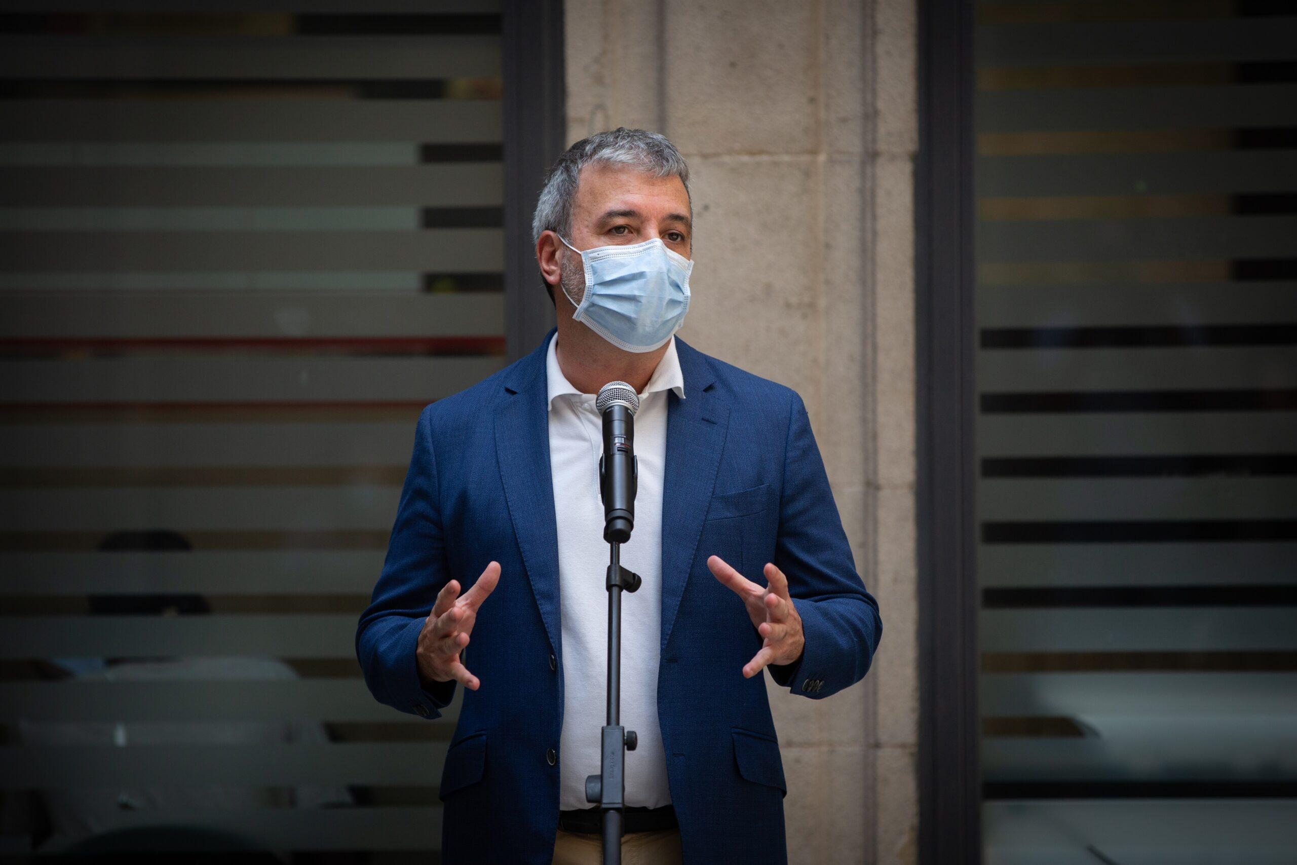 El primer tinent d'alcaldia de Barcelona, Jaume Collboni / Europa Press