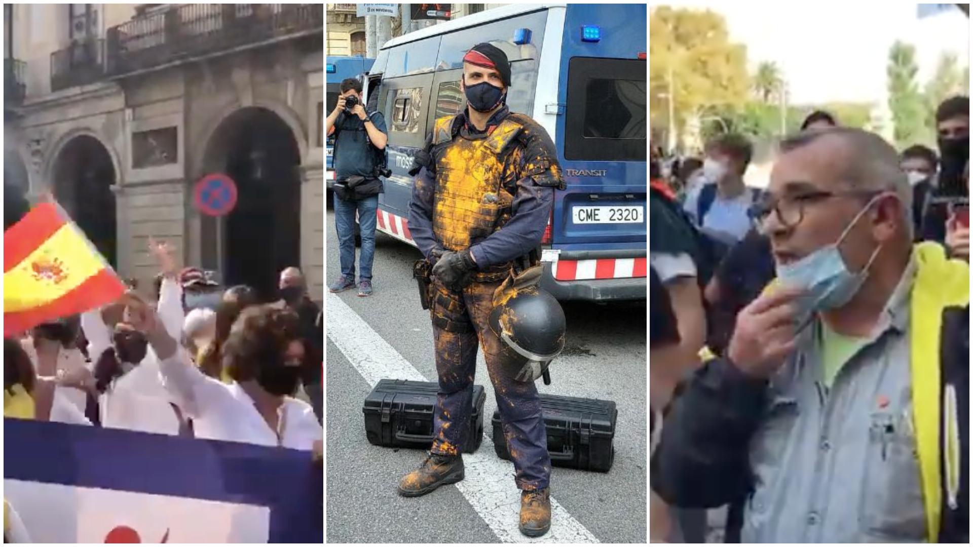 Anecdotari de la manifestació contra Felip VI a Barcelona / Quico Sallés
