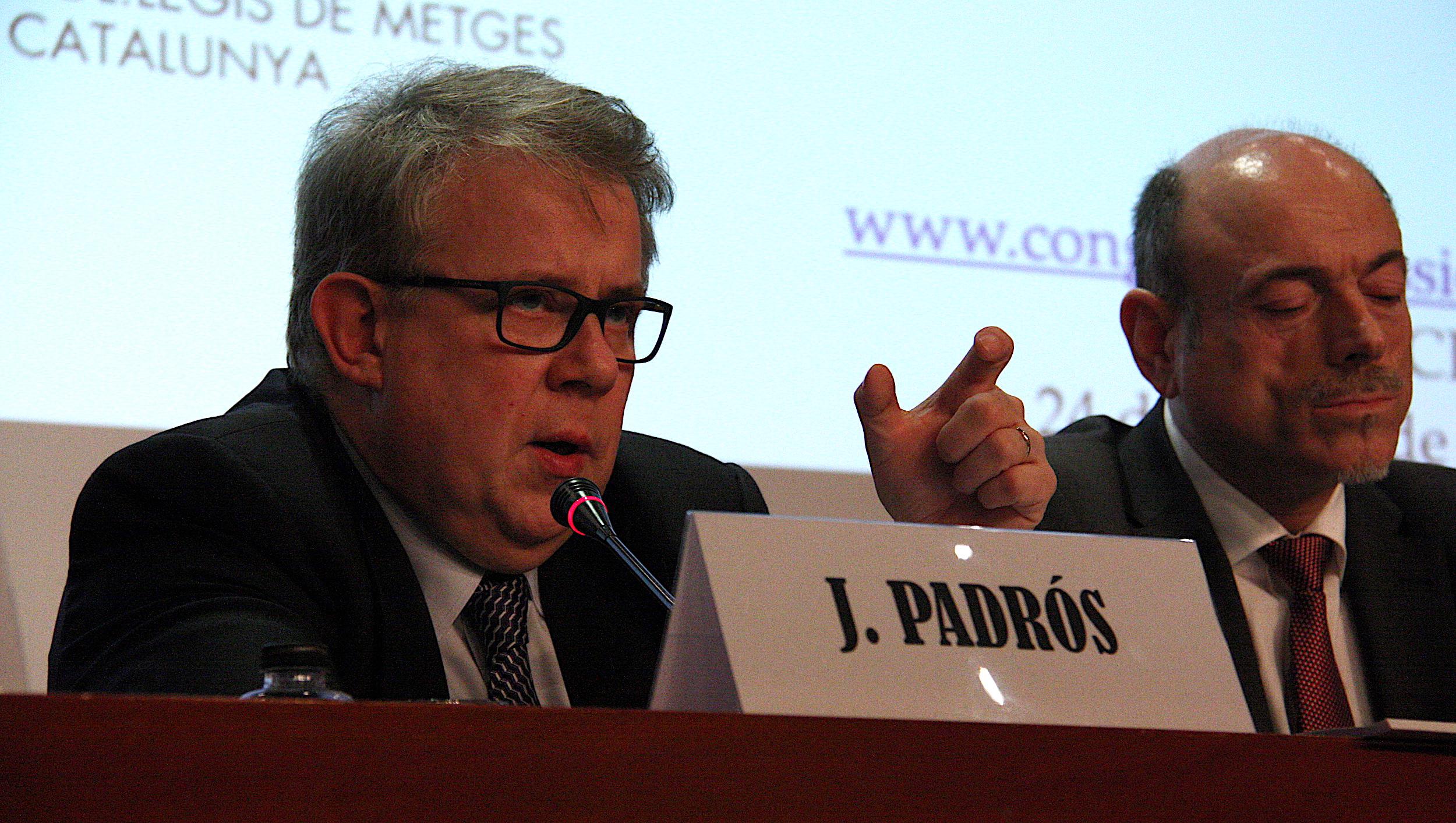 El president del Consell del Col·legi de Metges de Barcelona, Jaume Padrós, en imatge d'arxiu / Marc Ferragut (ACN)