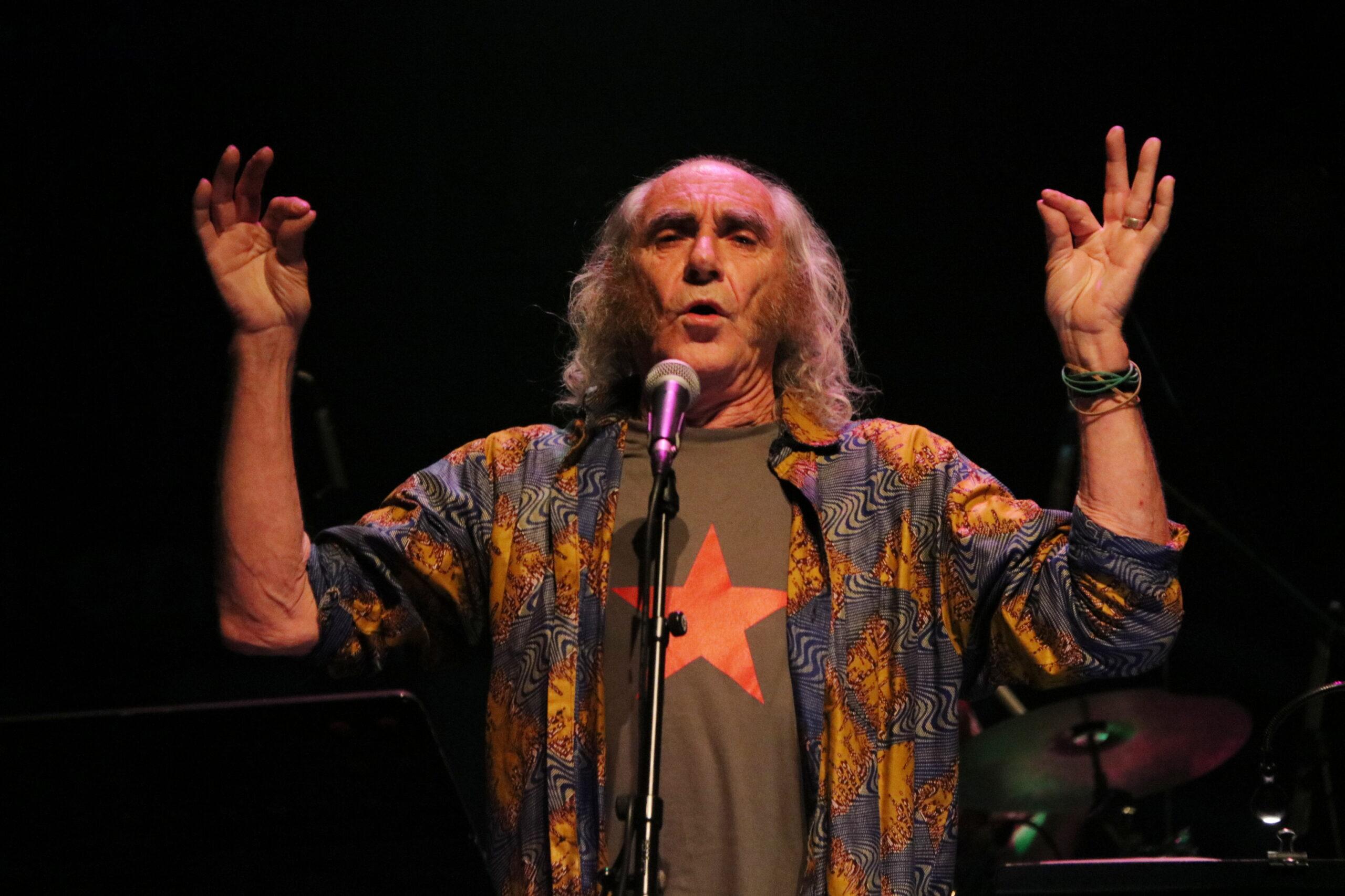 Pau Riba durant el concert del 12 d'abril de 2019 / ACN