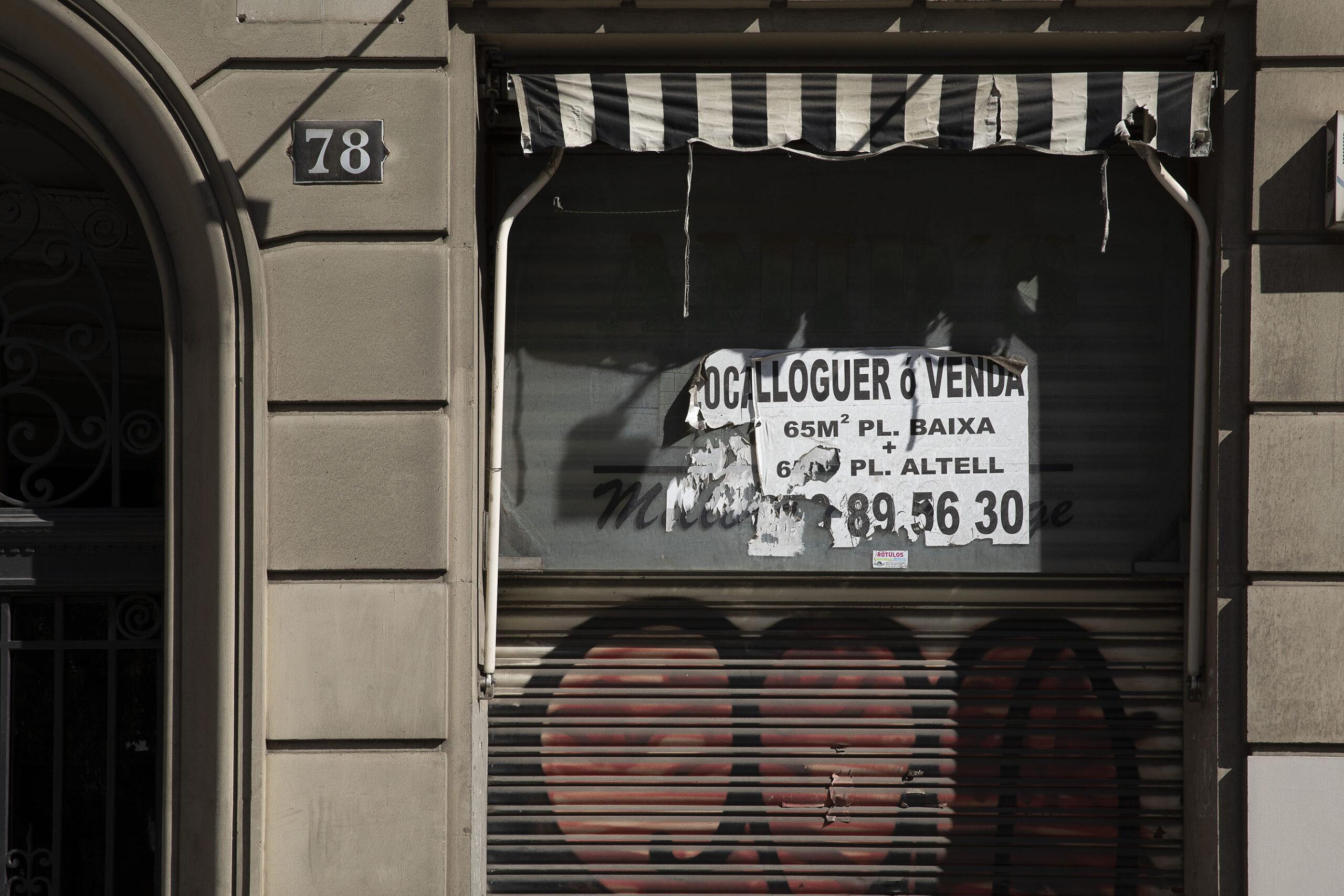 Els locals buits han creat un nou paisatge comercial a Barcelona / Jordi Play